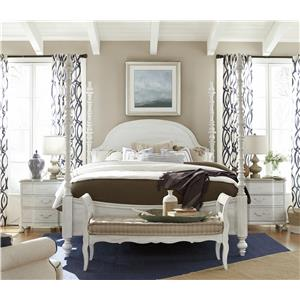 Paula Deen By Universal Dogwood 597602 Rta Kitchen Stool With Bobbin Legs Baer 39 S Furniture