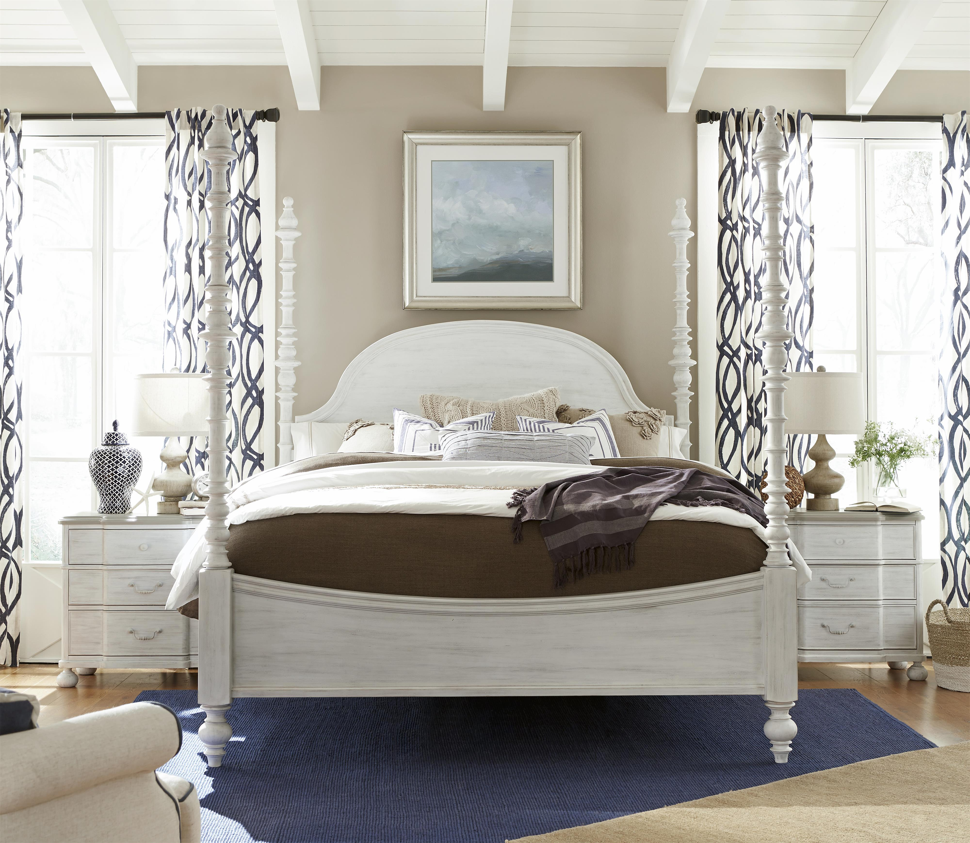 paula deen by universal dogwood 597280b the dogwood queen bed with adjustable posts baer 39 s. Black Bedroom Furniture Sets. Home Design Ideas