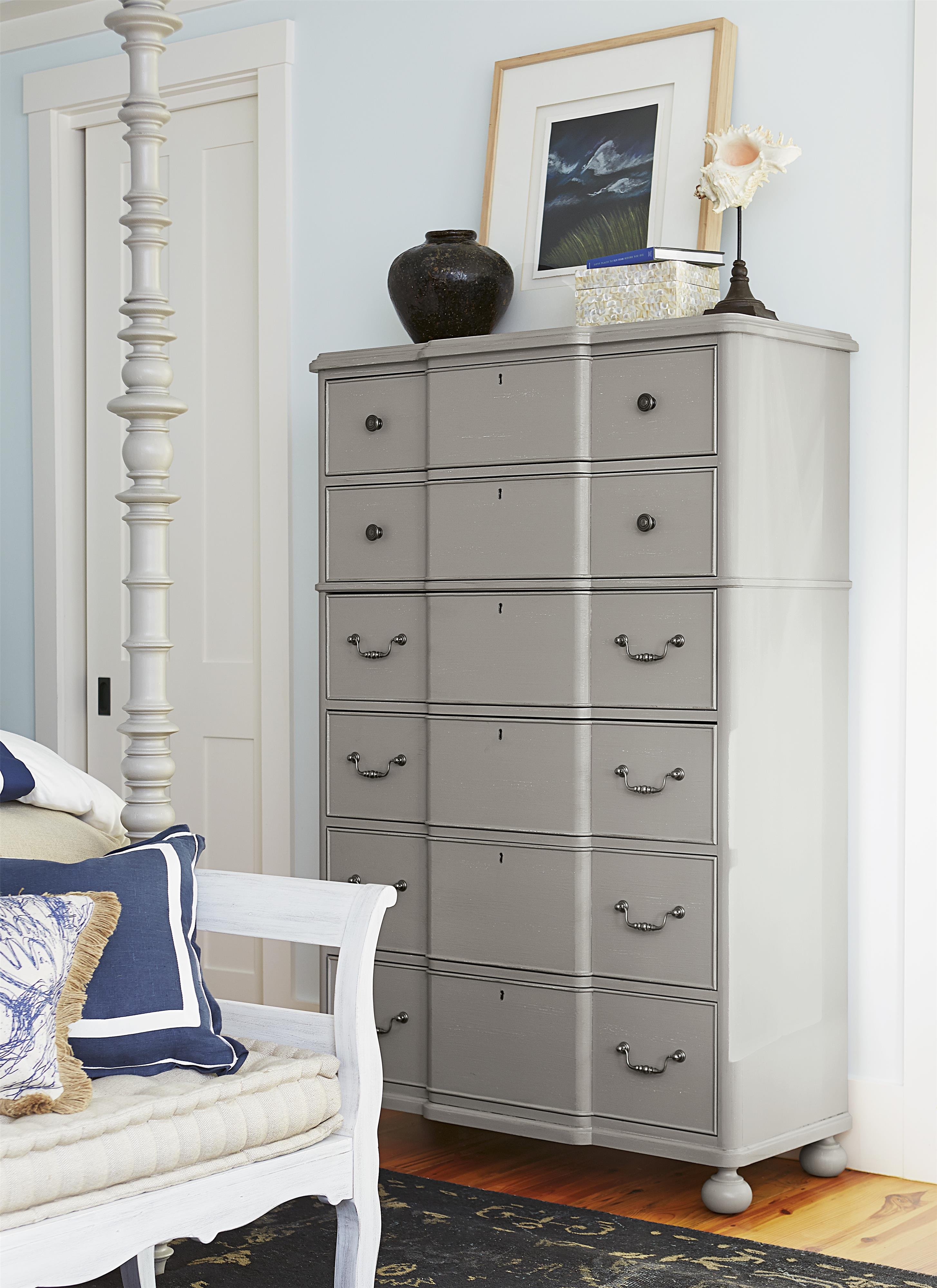 Paula Deen By Universal Dogwood 599150 Drawer Chest With Bun Feet Baer 39 S Furniture Drawer Chests