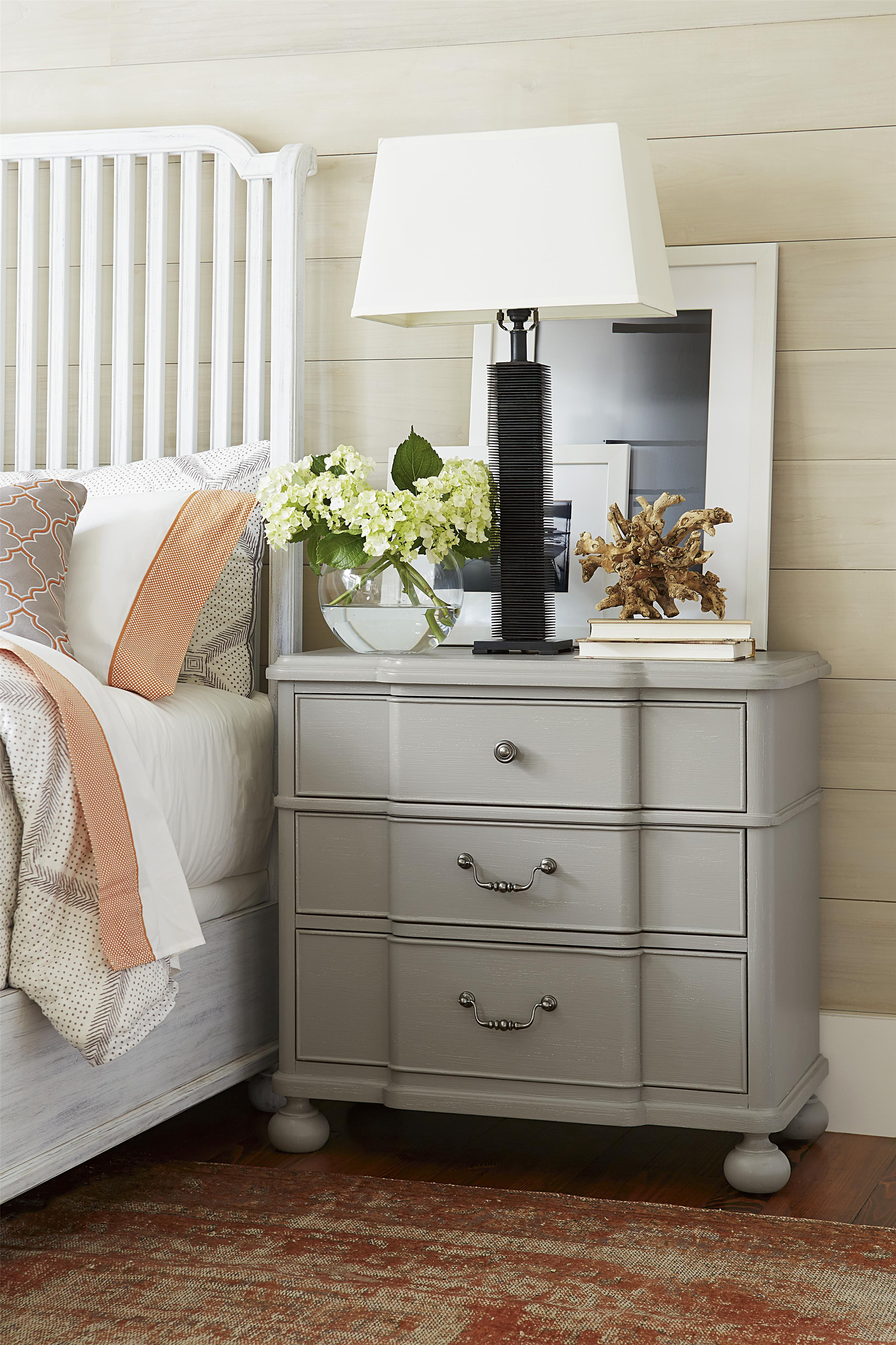 Paula Deen By Universal Dogwood Nightstand With Outlet Zak 39 S Fine Furniture Night Stands