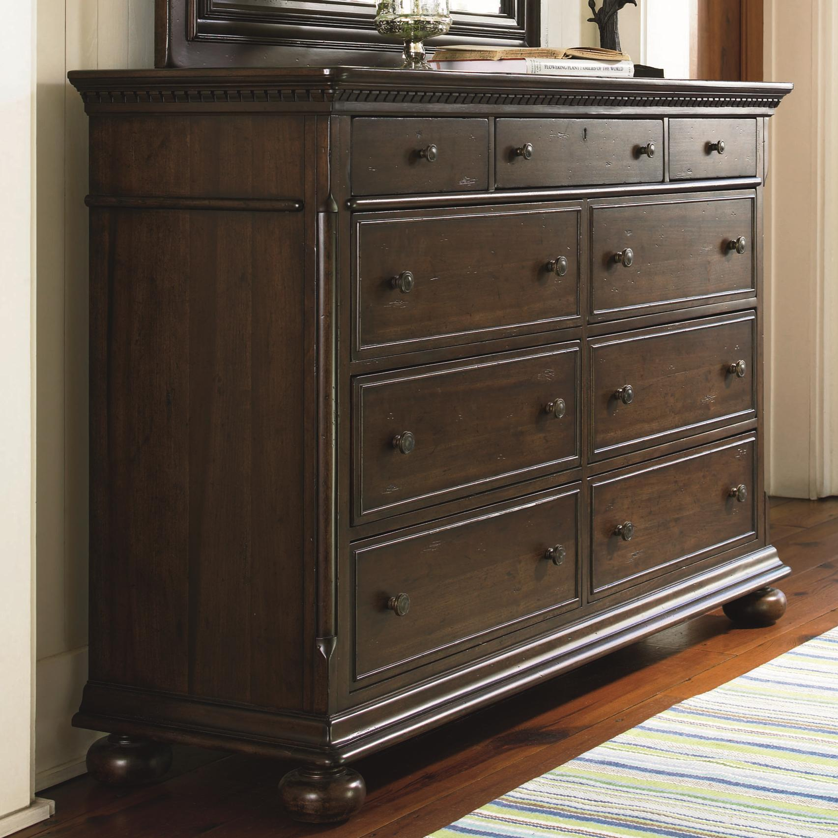 Paula Deen By Universal Down Home Aunt Peggy 39 S Dresser With 8 Drawers Reeds Furniture Dresser