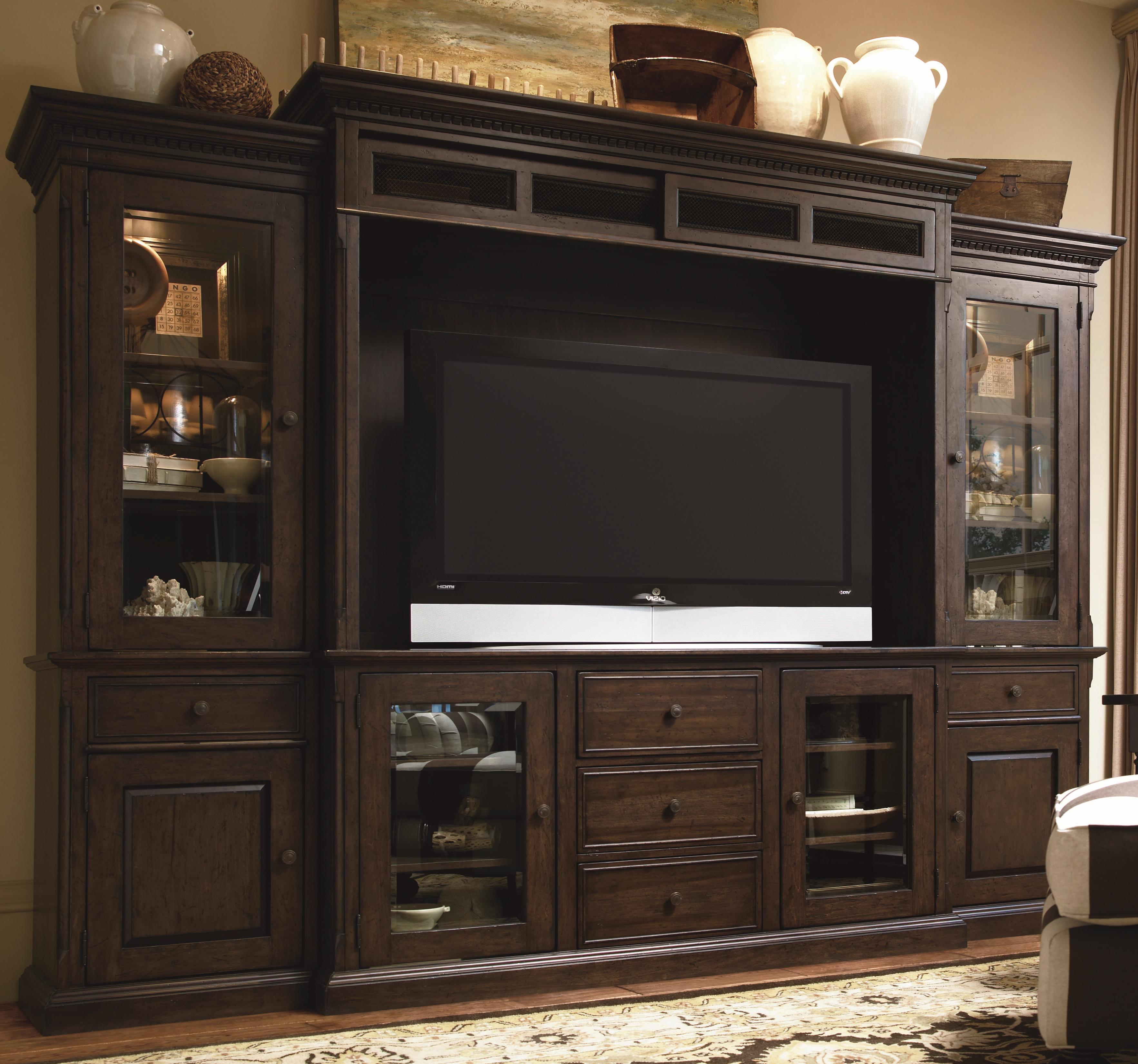 Entertainment Units Acoustic Wall And Home Theaters On: Paula Deen By Universal Down Home 193966HE Entertainment