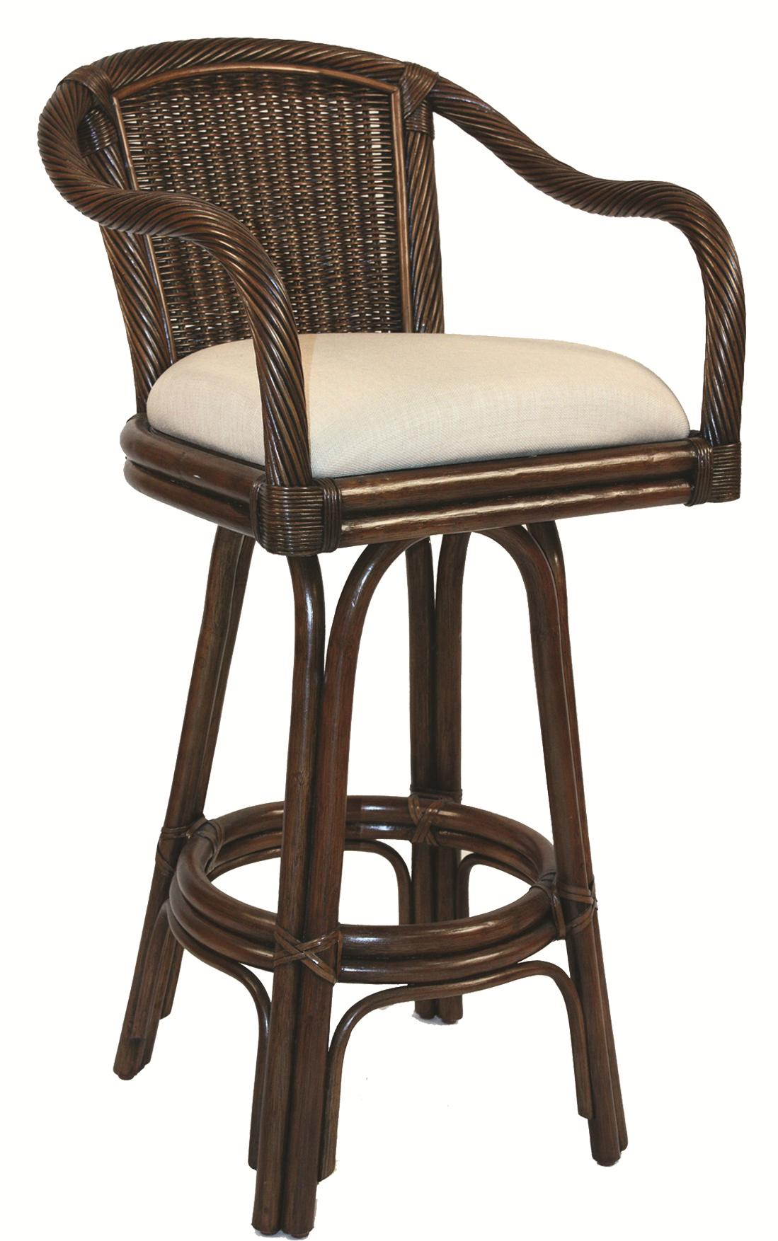 Pelican Reef Bar Stools Pr 30 Quot Barstool With Upholstered