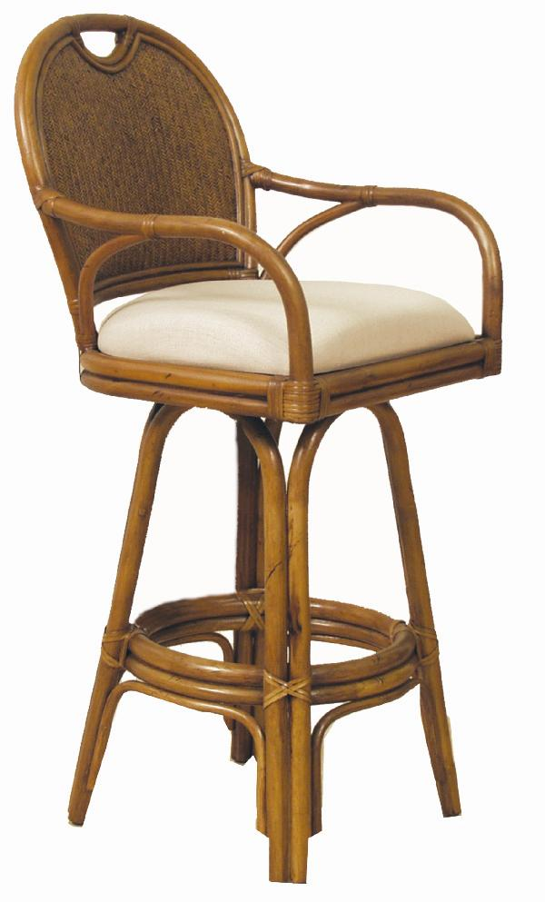 Pelican Reef Bar Stools 109 6197 Tca B 30 Swivel Barstool With Upholstered Seat Baer 39 S