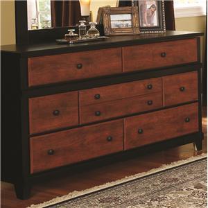 Daniel 39 s amish amish elegance 12 drawer triple dresser - Tocadores con espejo ...