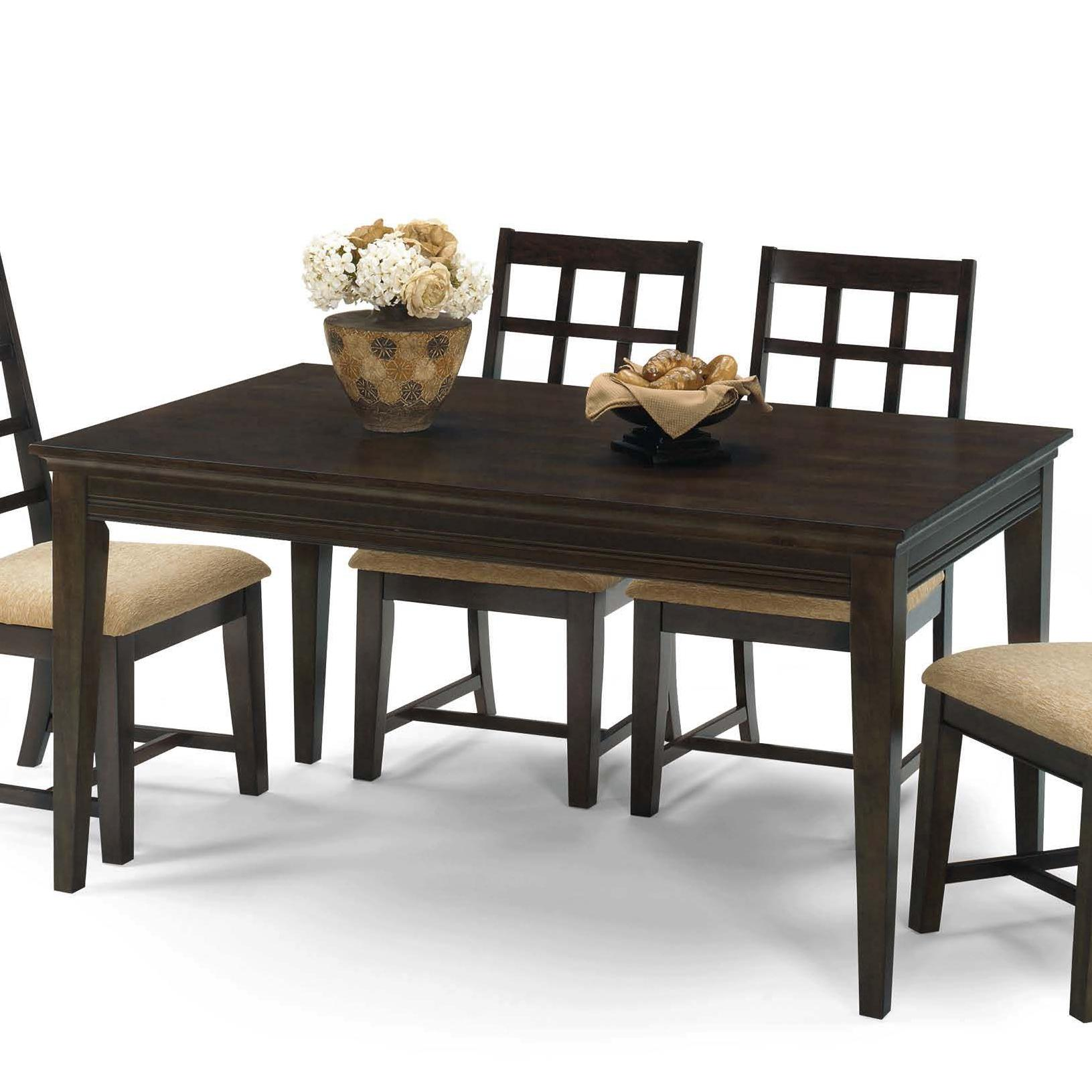 Progressive furniture casual traditions p107d 10 casual 4 for Informal dining table