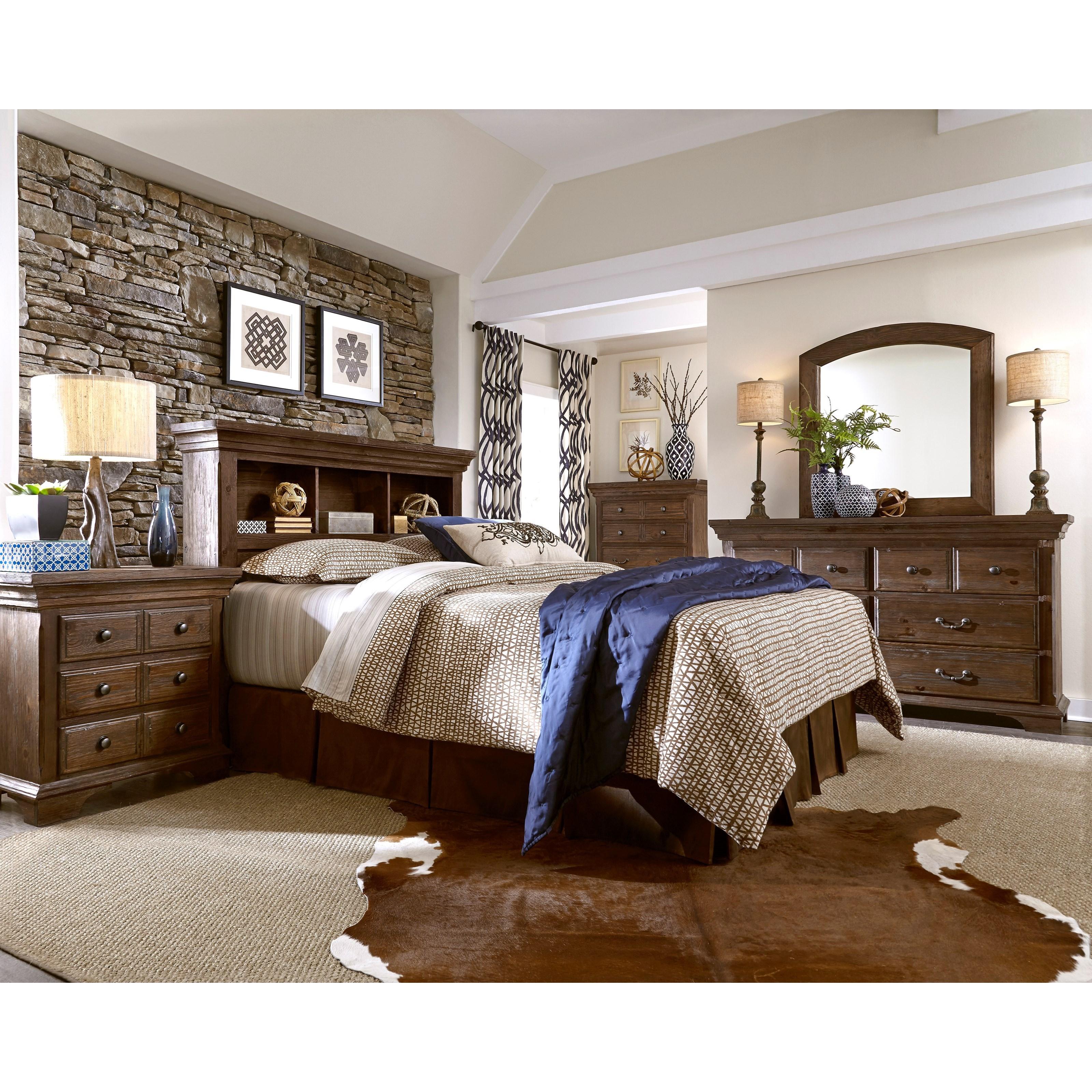 Progressive furniture copenhagen king bedroom group for Bedroom furniture companies