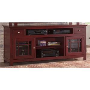 """54"""" TV Console with Glass Door Emerson Hills by"""