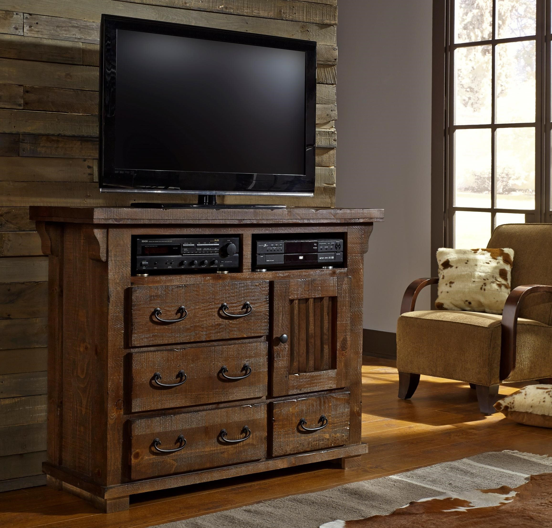 Progressive Furniture Forrester B631 46 Media Chest Hudson 39 S Furniture Media Chests