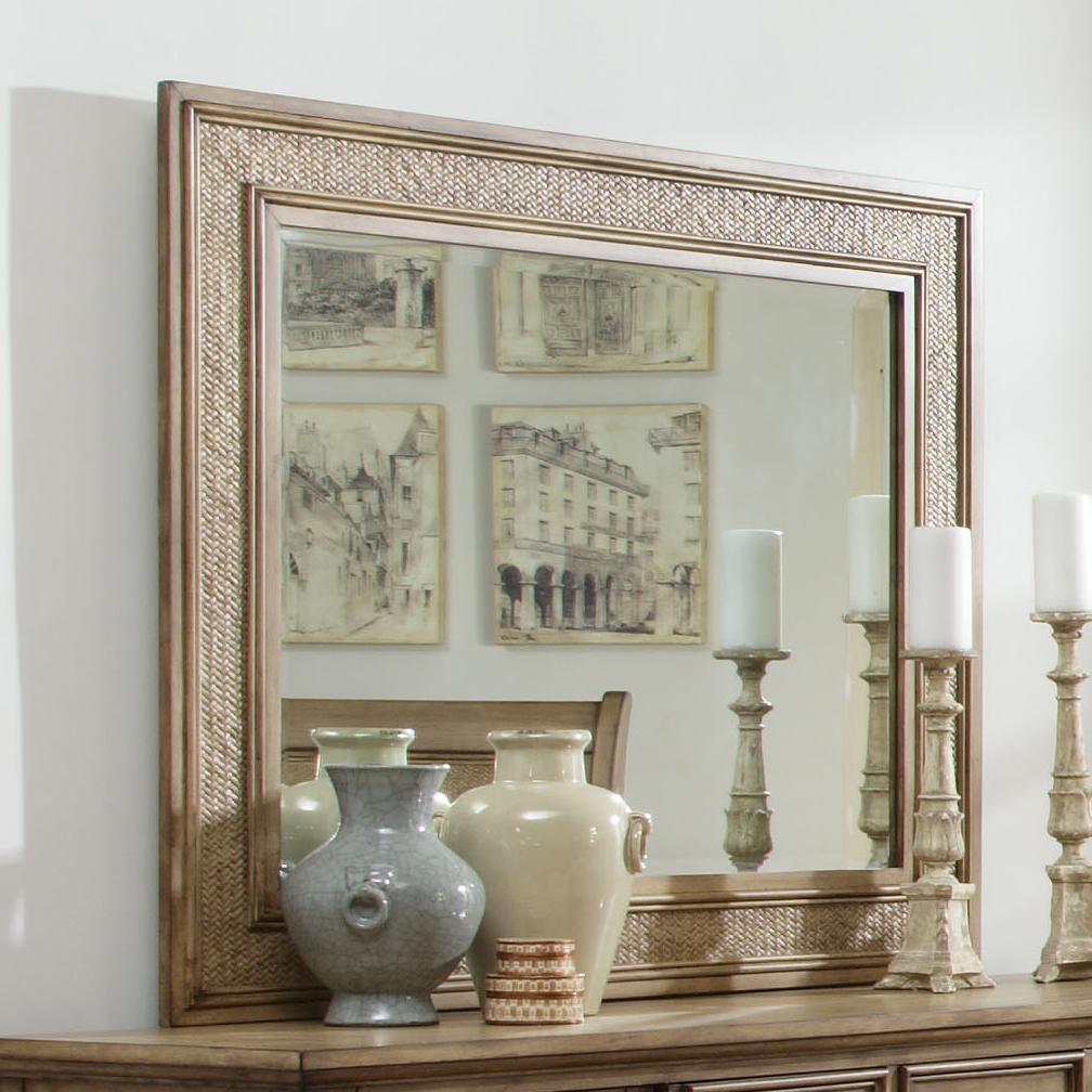 Progressive furniture kingston isle p196 50 mirror for Furniture kingston