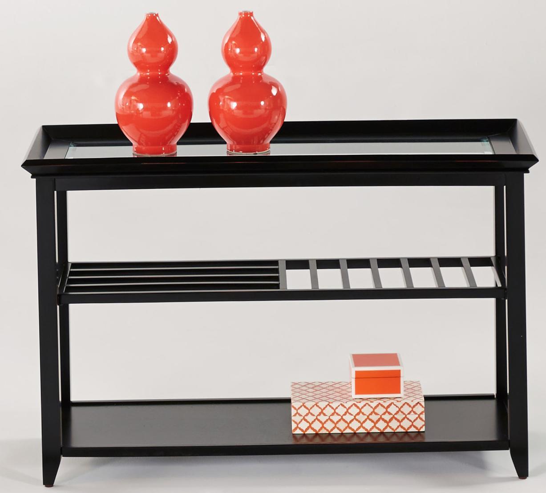 Progressive furniture sandpiper contemporary sofa console for Sofa table rules