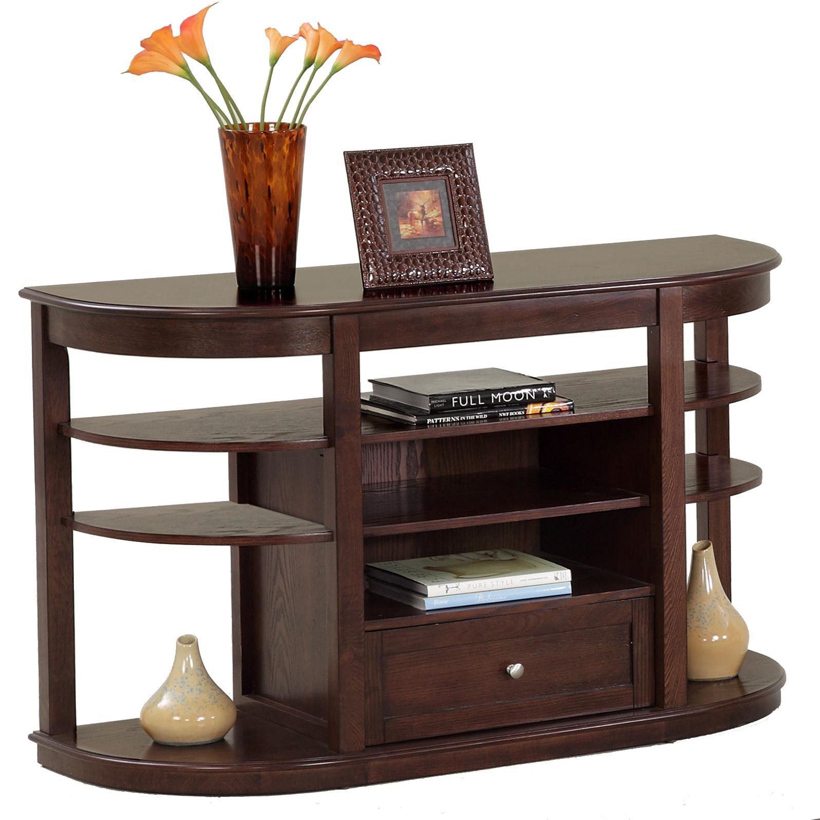 Progressive furniture sebring sofa console table wayside for Sofa console