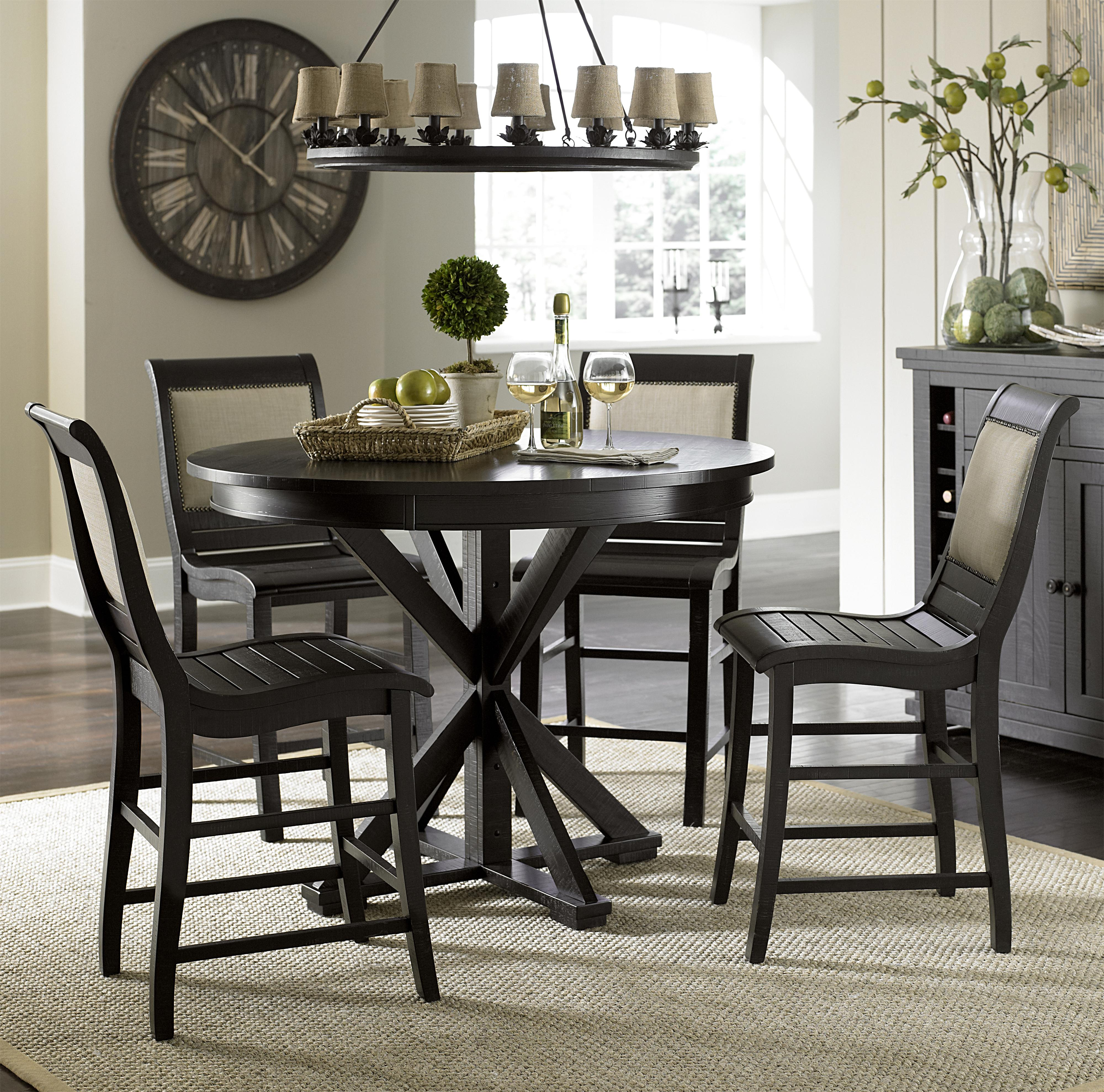 Progressive Furniture Willow Dining 5 Piece Round Counter