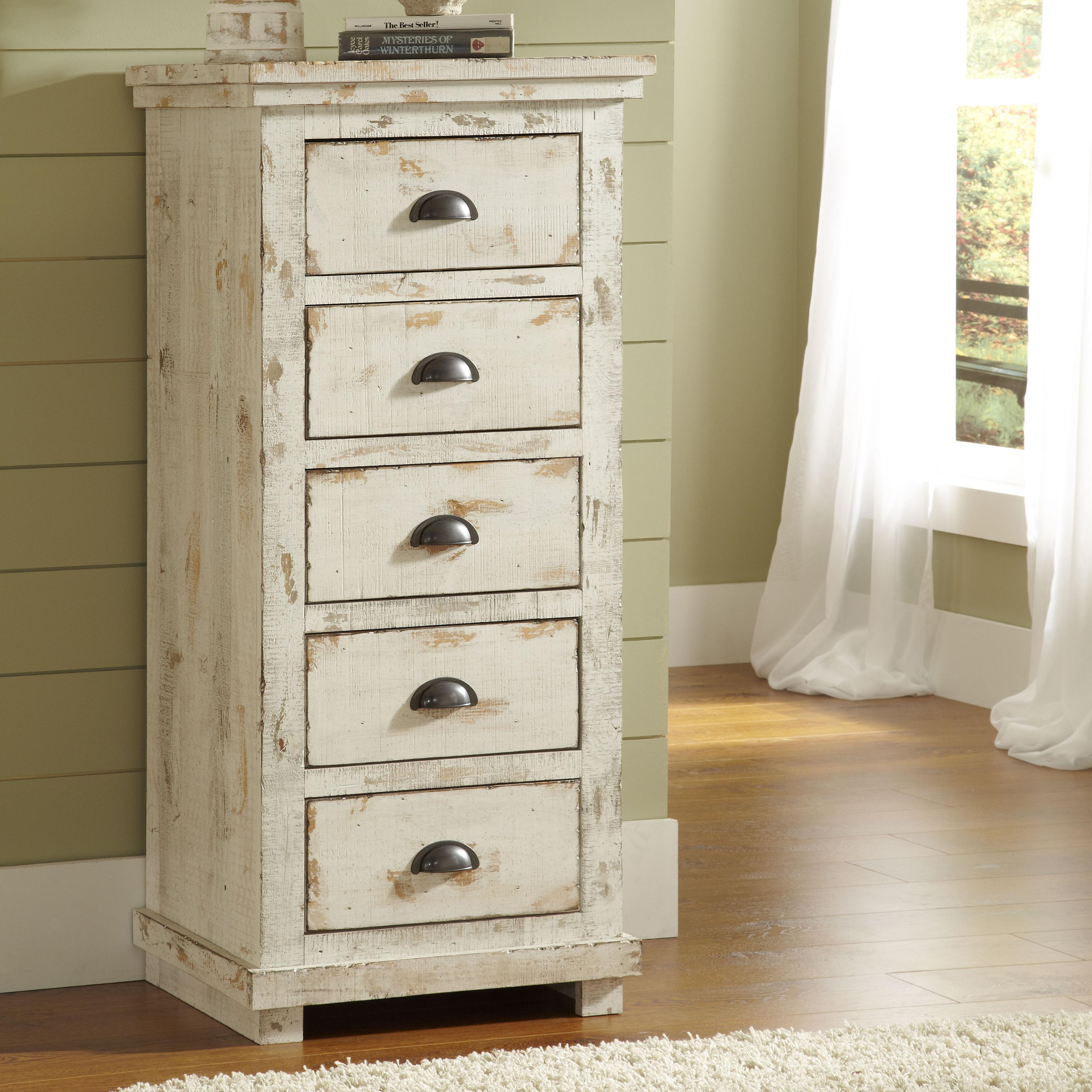 Progressive furniture willow distressed pine lingerie for Armoire lingere ikea
