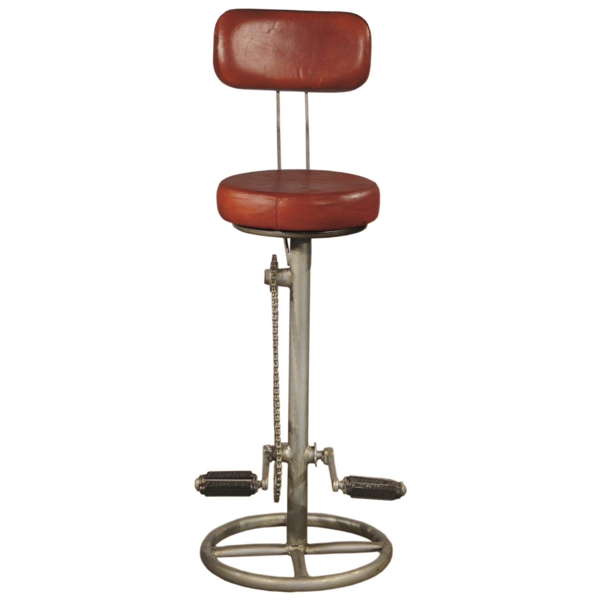 Pulaski Furniture Accents Kent Bar Stool With Bicycle