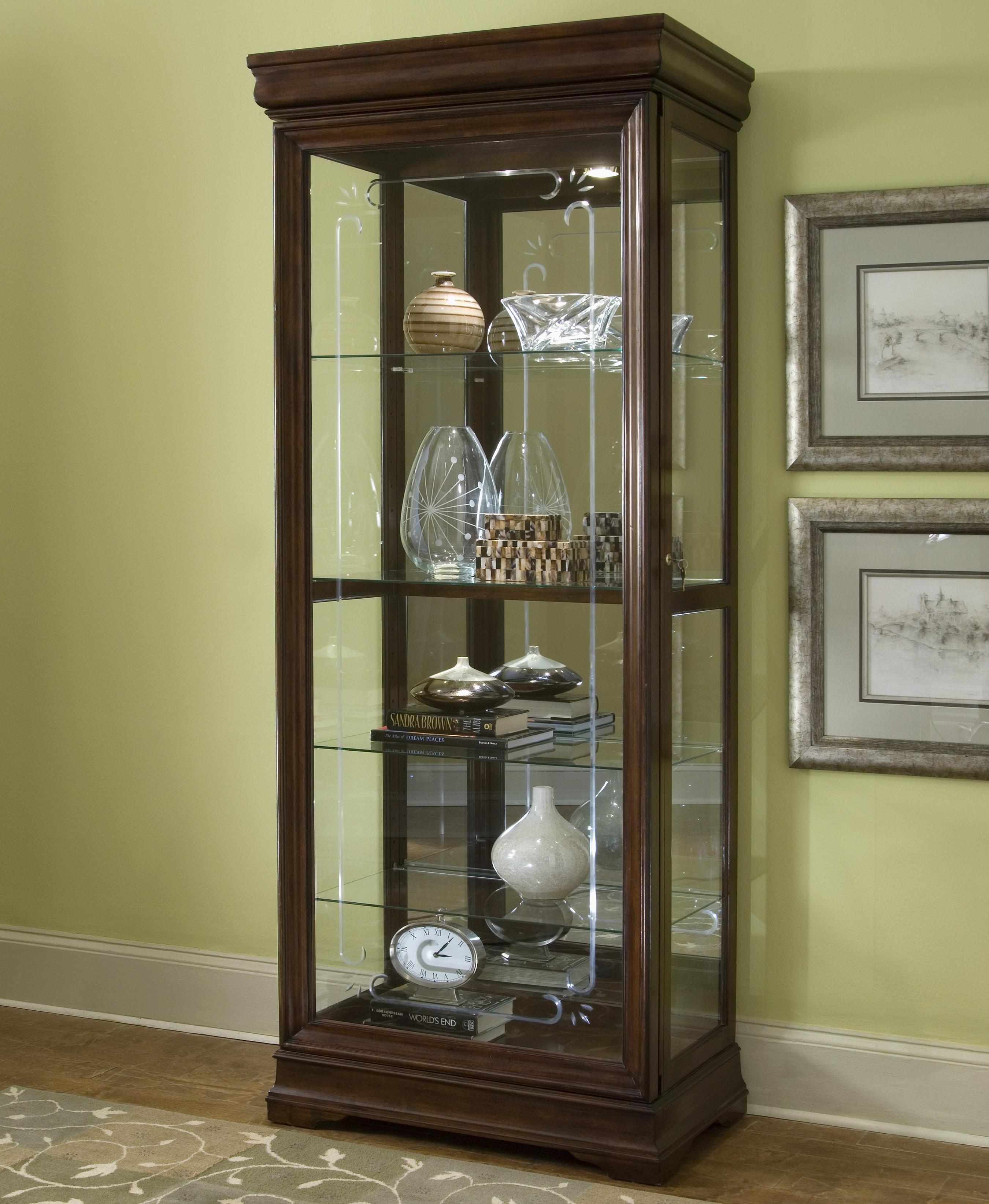 Pulaski furniture curios gallery curio cabinet olinde 39 s for Pulaski furniture