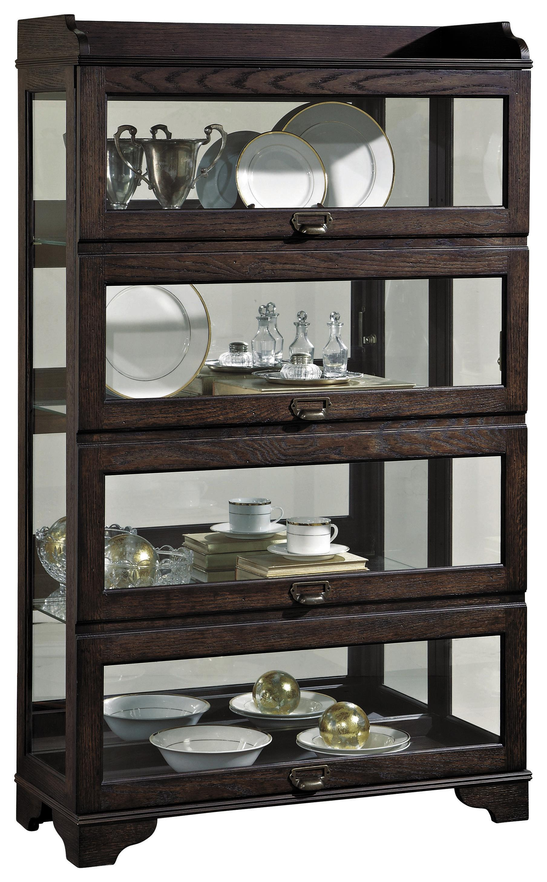 Pulaski furniture curios low sliding front curio olinde for Pulaski furniture