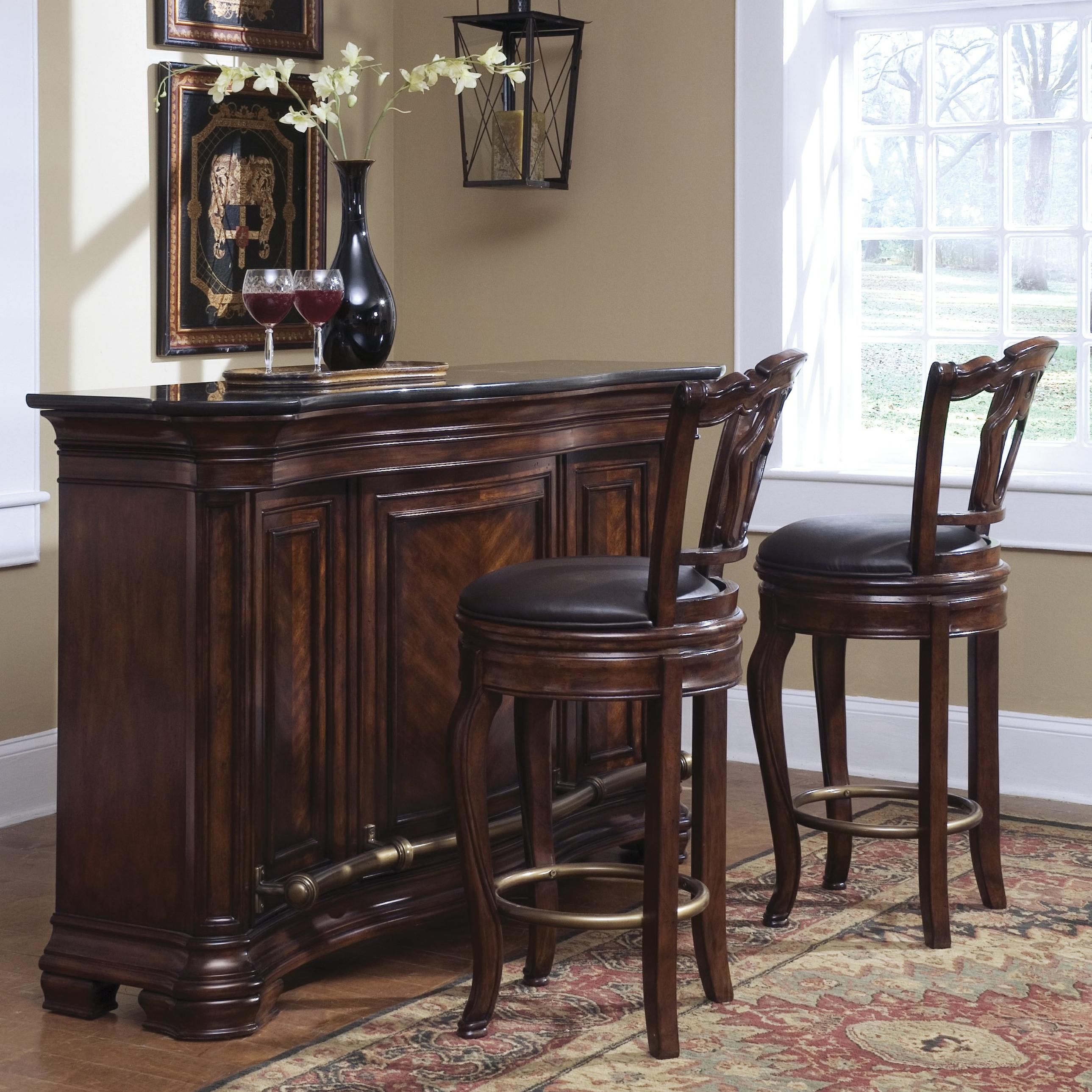 Pulaski Furniture Accents Toscano Vialetto Bar Jacksonville Furniture Mart Bars