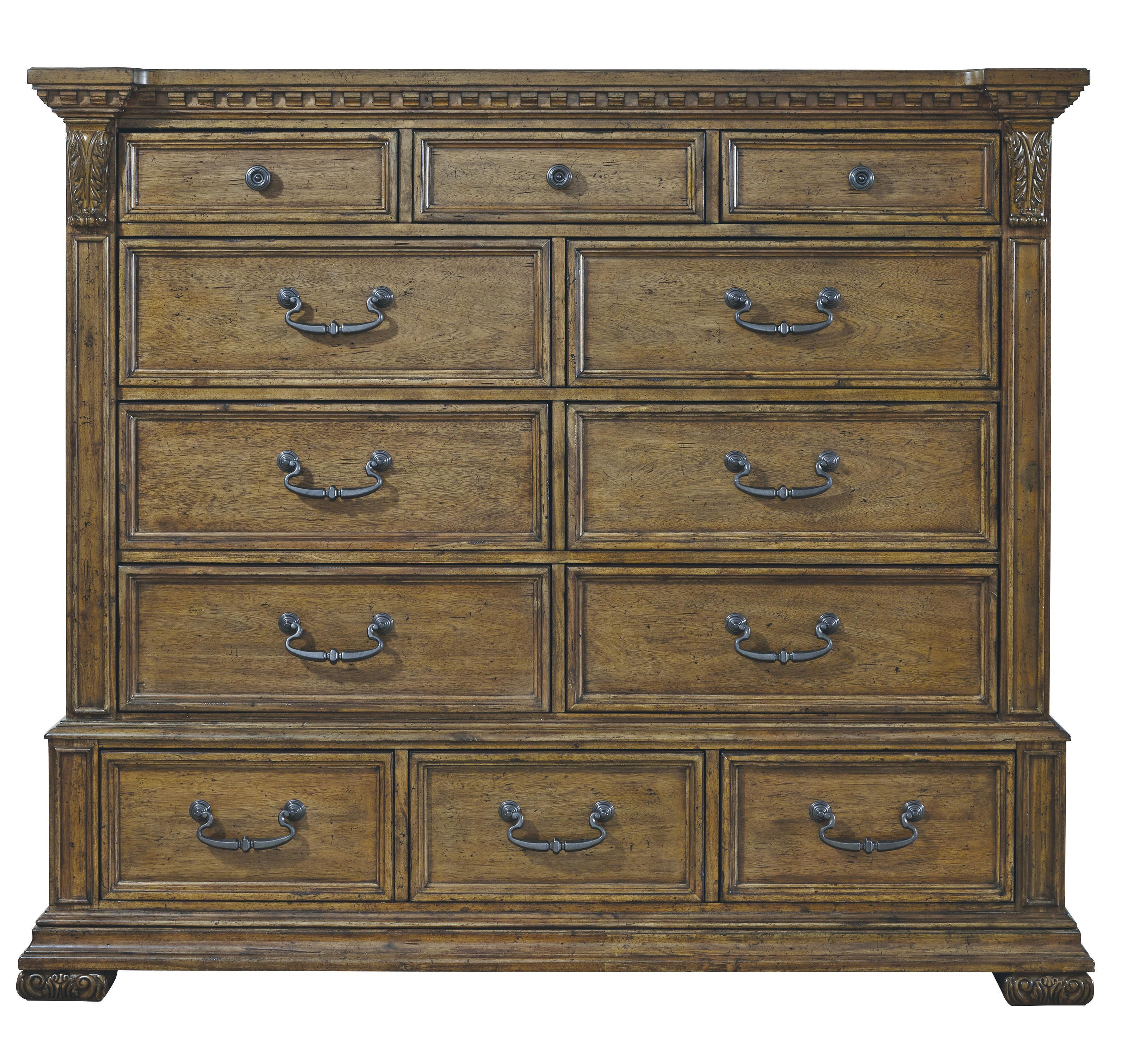 Pulaski Furniture Stratton 12 Drawer Master Chest Wayside Furniture Chest Of Drawers