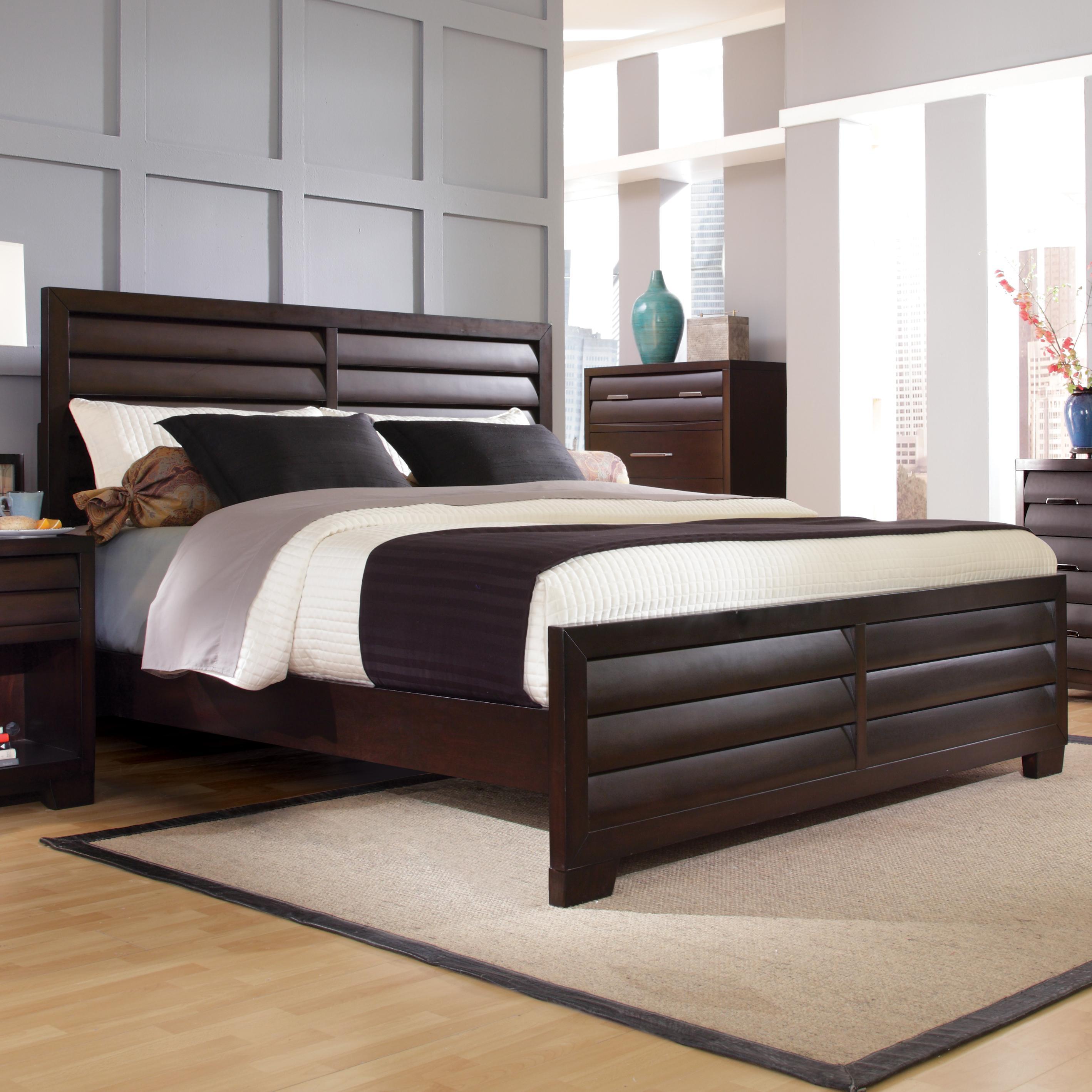 Pulaski Furniture Tangerine Queen Panel Bed Dream Home Furniture Headboard Footboard