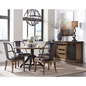 Pulaski Furniture Weston Loft Formal Dining Room Group Wayside Furniture