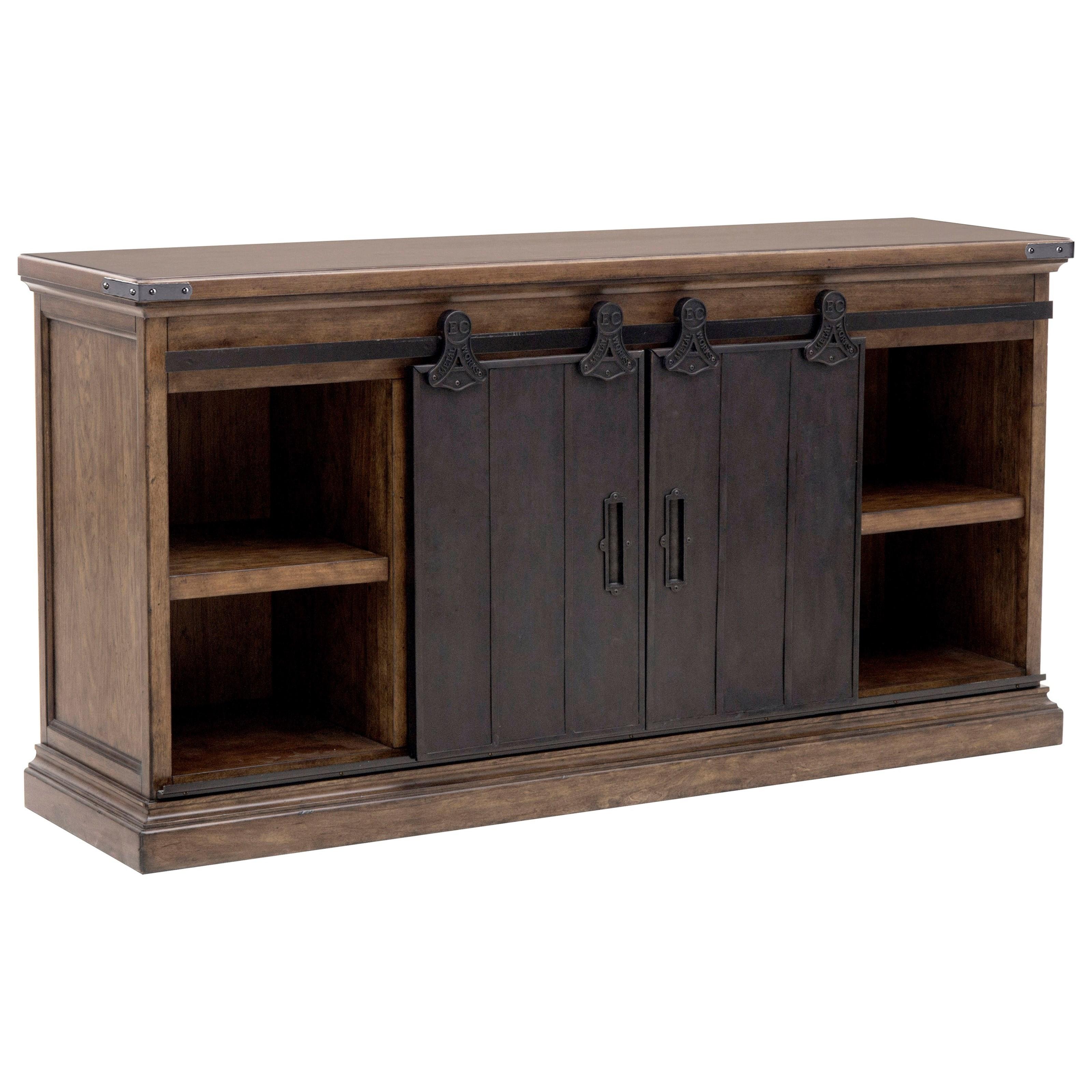 pulaski furniture weston loft p001302 buffet with 2. Black Bedroom Furniture Sets. Home Design Ideas