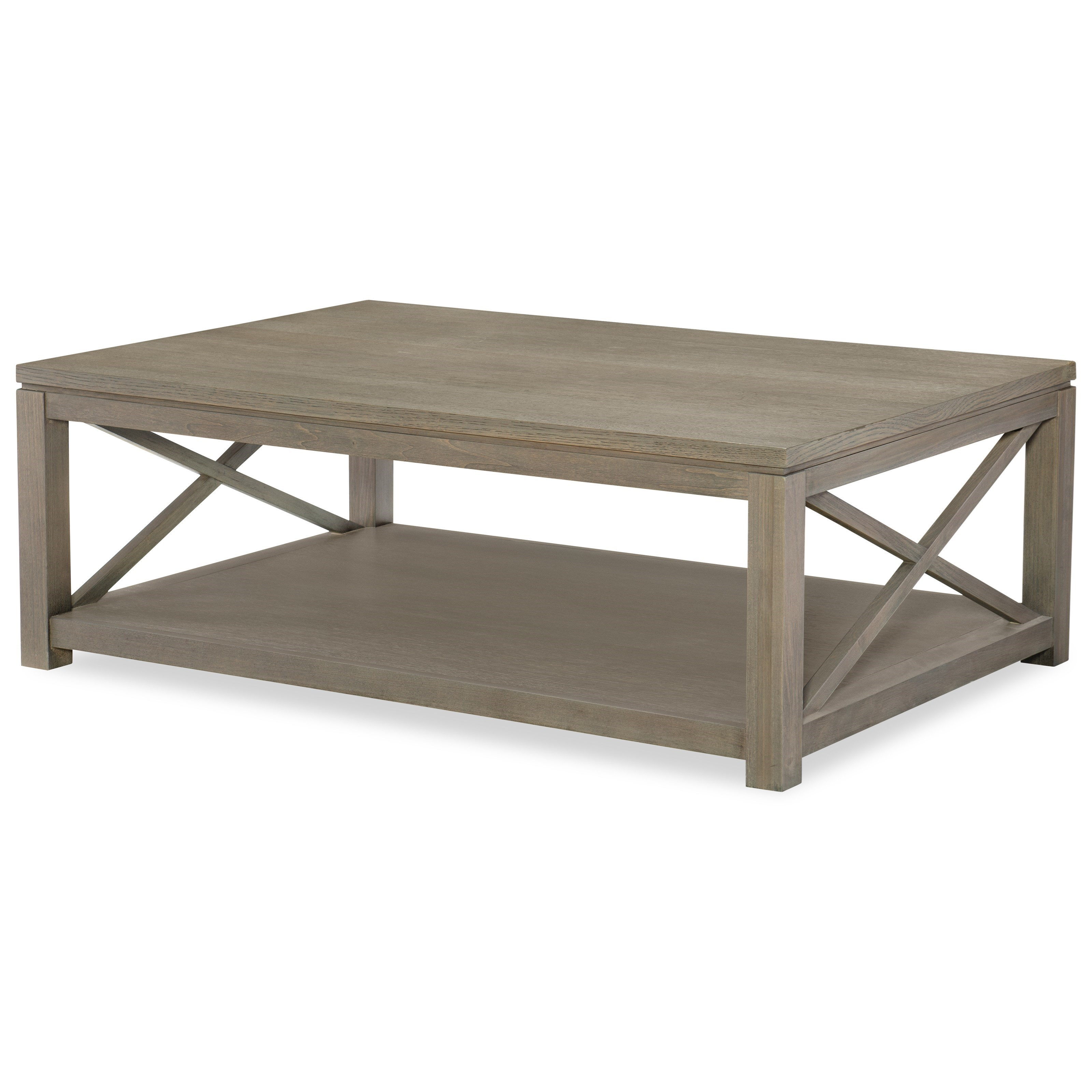 Rachael ray home high line rectangular cocktail table with for Cocktail tables high