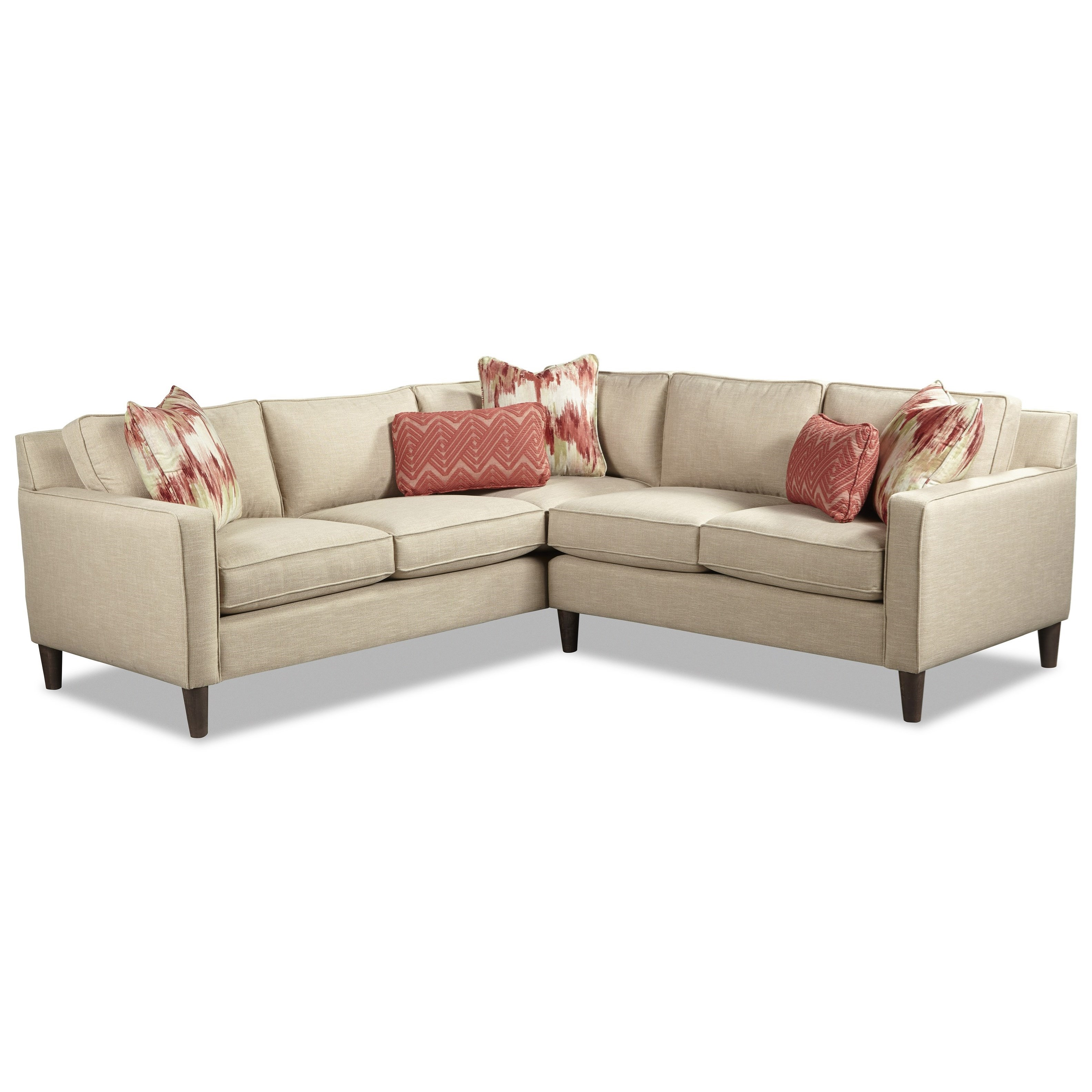 Rachael ray home by craftmaster r7605 contemporary corner for Sectional sofa jacksonville