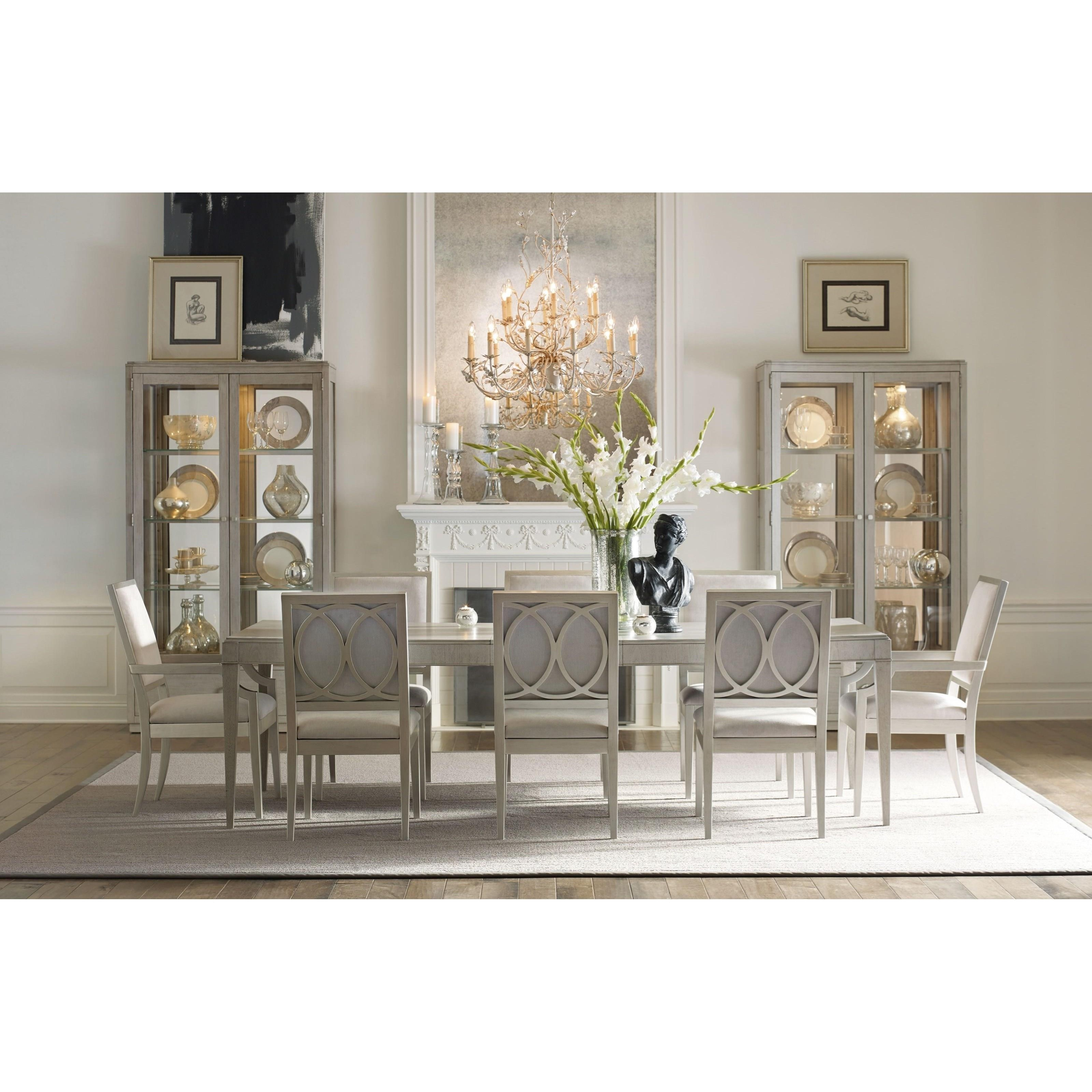 Rachael ray home by legacy classic cinema upholstered side for Legacy classic dining room furniture