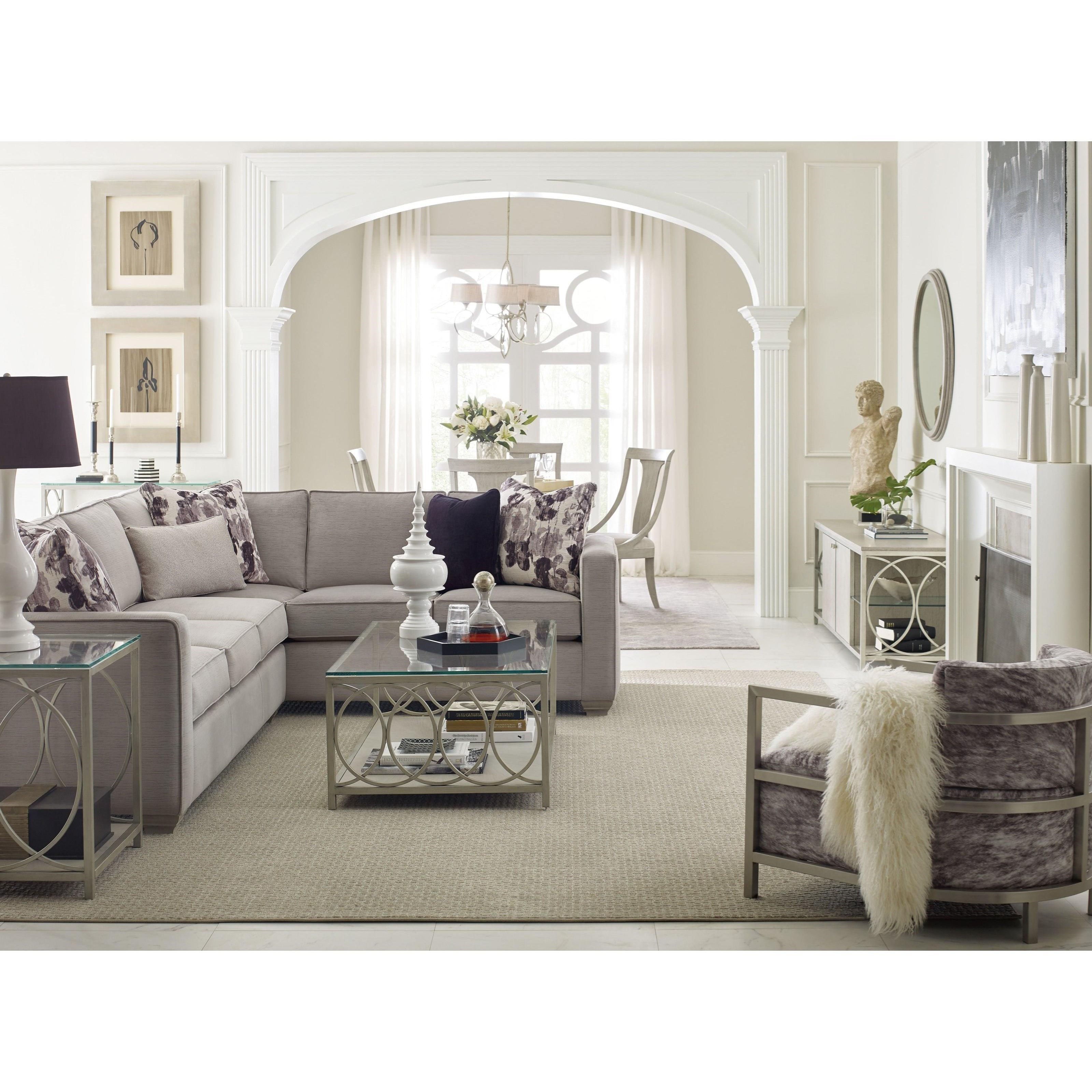 Rachael ray home by legacy classic cinema glass top end for Classic home furniture jacksonville fl