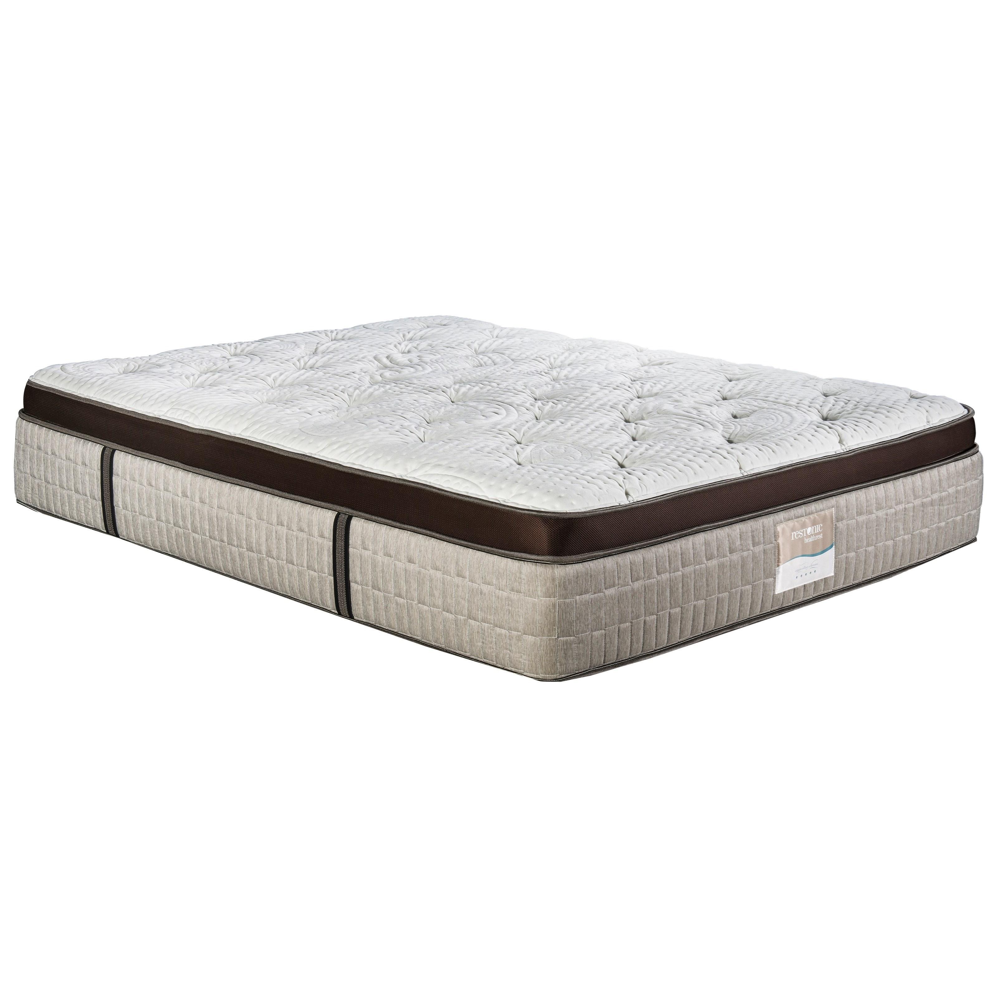 restonic latex vienna queen 15 euro top plush talalay latex mattress olinde 39 s furniture. Black Bedroom Furniture Sets. Home Design Ideas