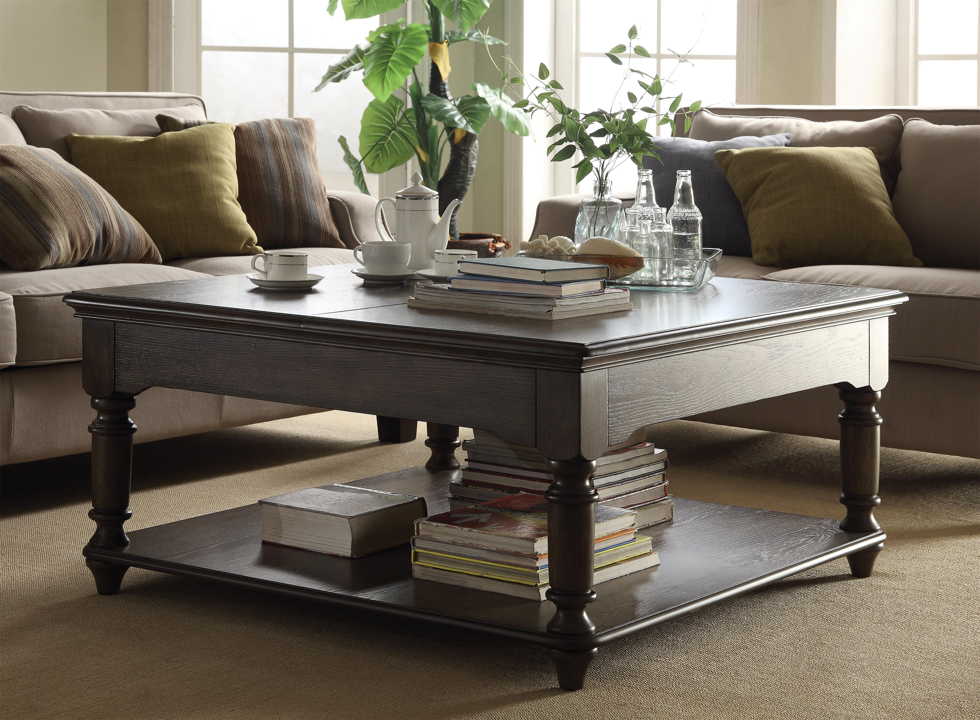 Belmeade Square Lift Top Coffee Table by Riverside