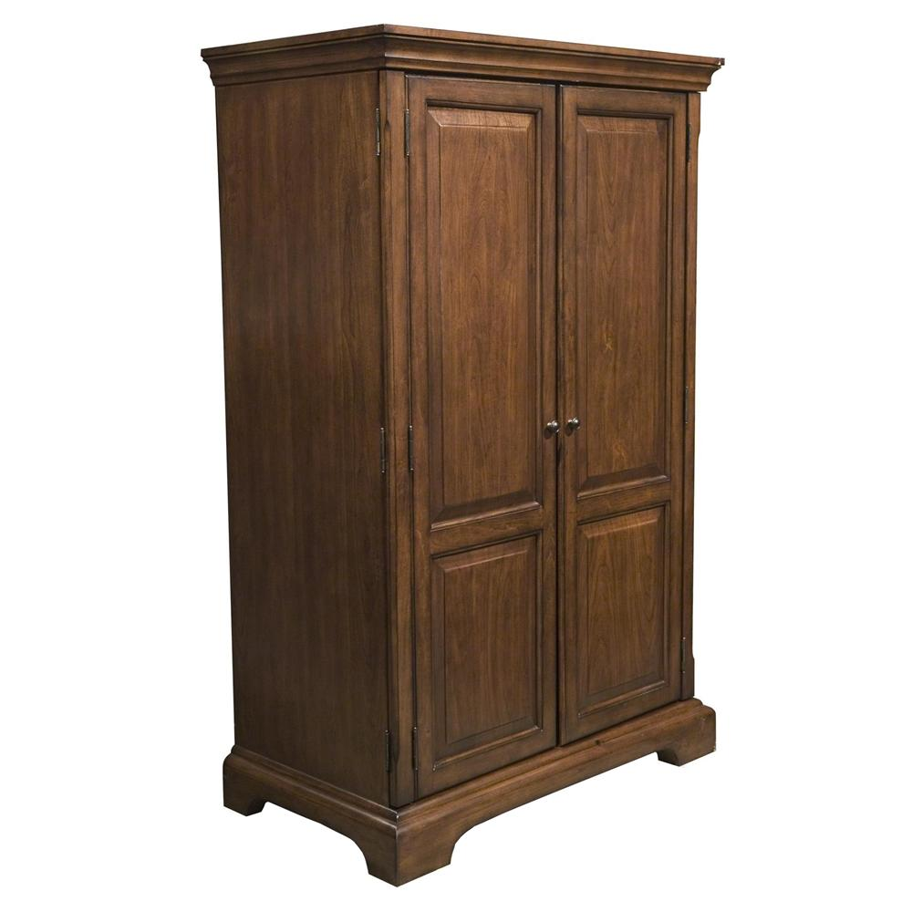 riverside furniture cantata traditional computer armoire. Black Bedroom Furniture Sets. Home Design Ideas