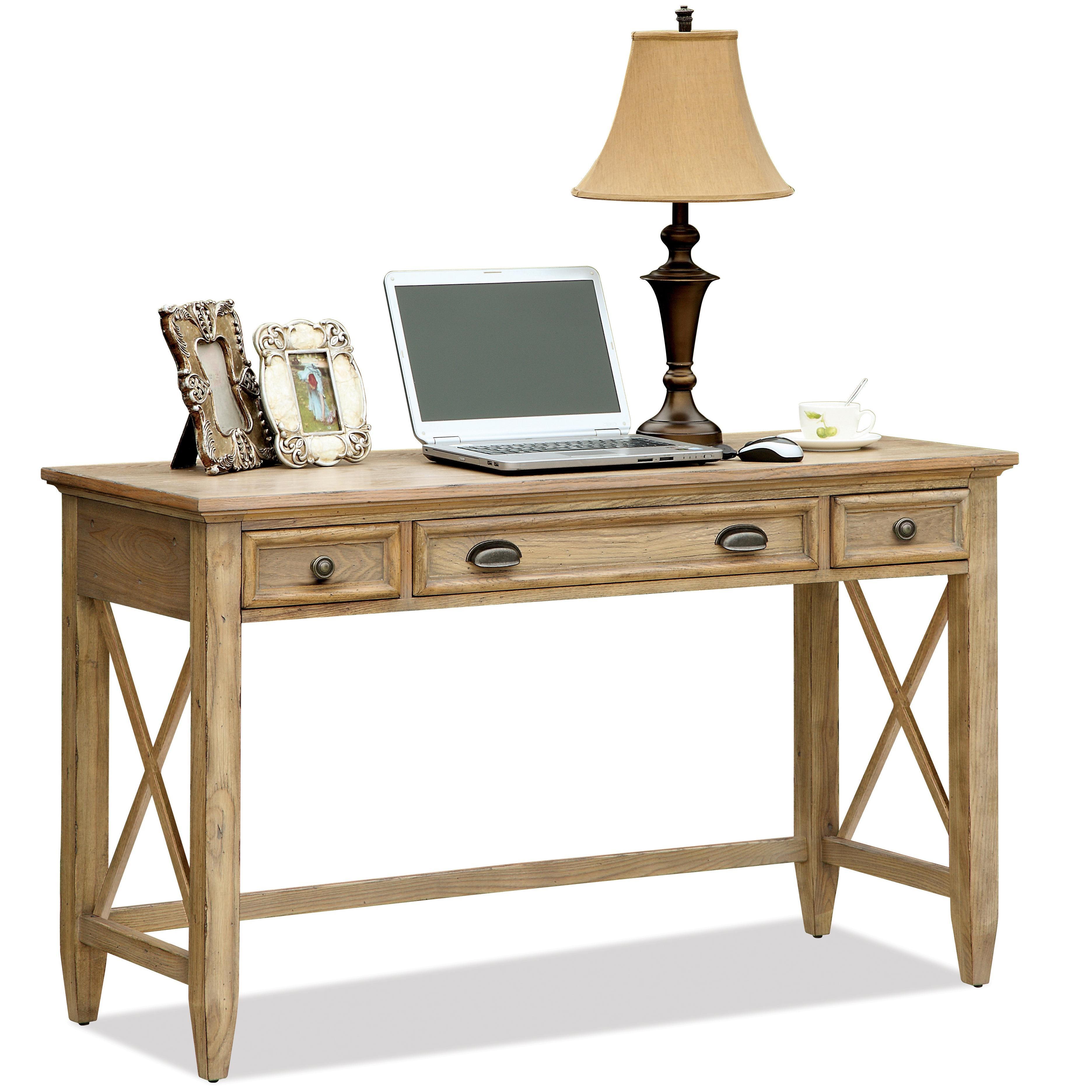 Riverside Furniture Coventry Writing Desk With 3 Drawers Outlet Powerbar Johnny Janosik