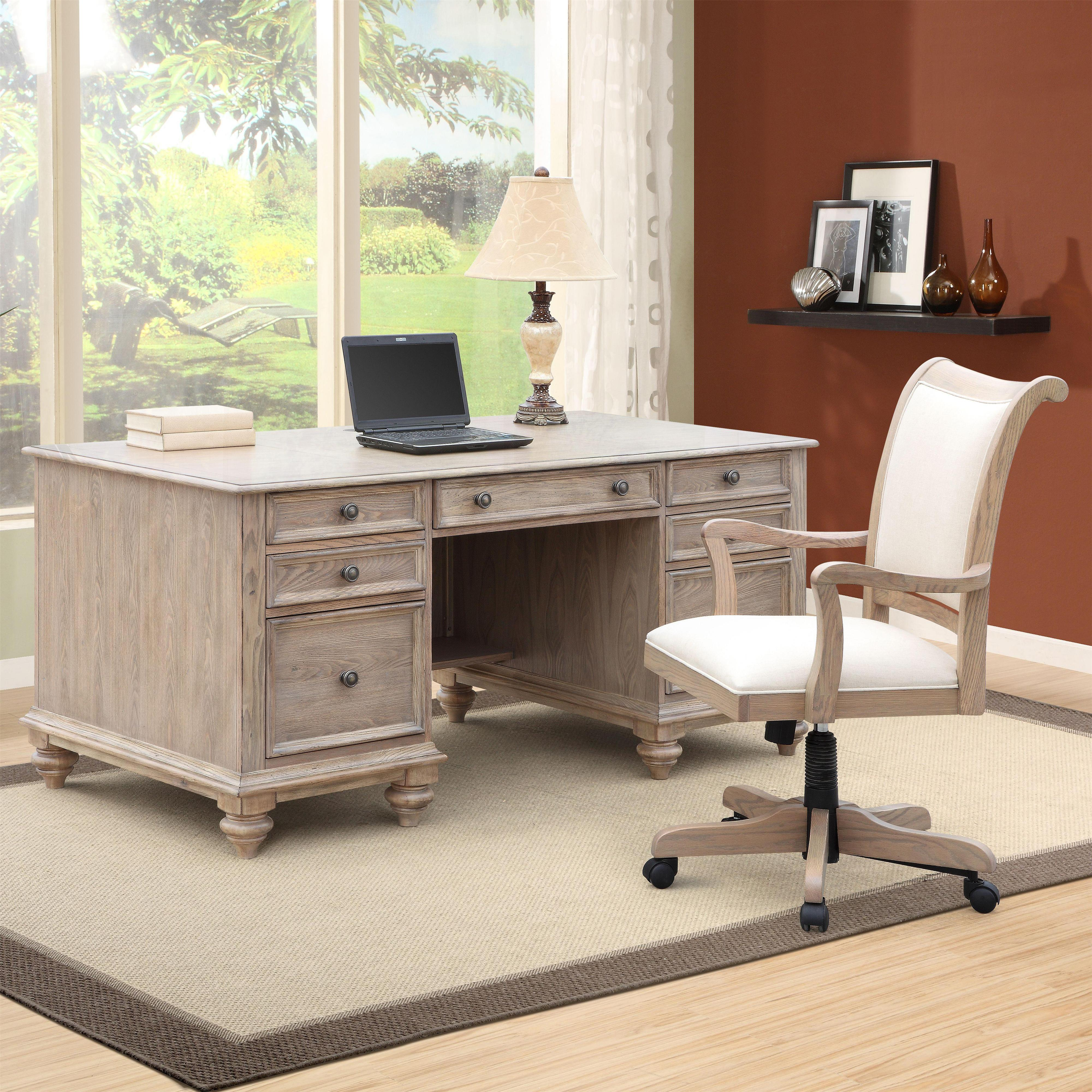 Riverside Furniture Coventry Executive Desk With 7 Drawers Colder 39 S Furniture And Appliance