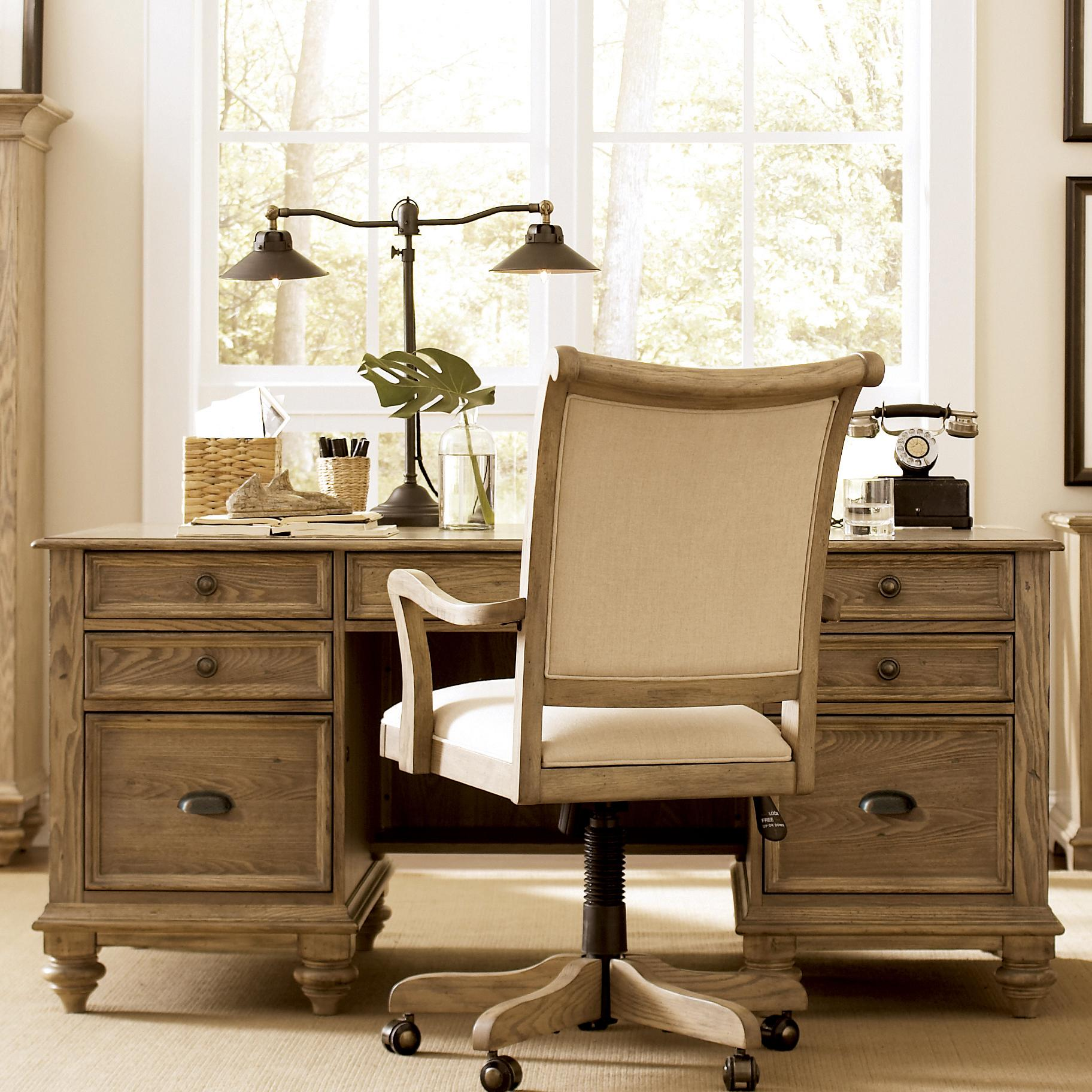 Riverside Furniture Coventry Executive Desk With 7 Drawers Jacksonville Furniture Mart