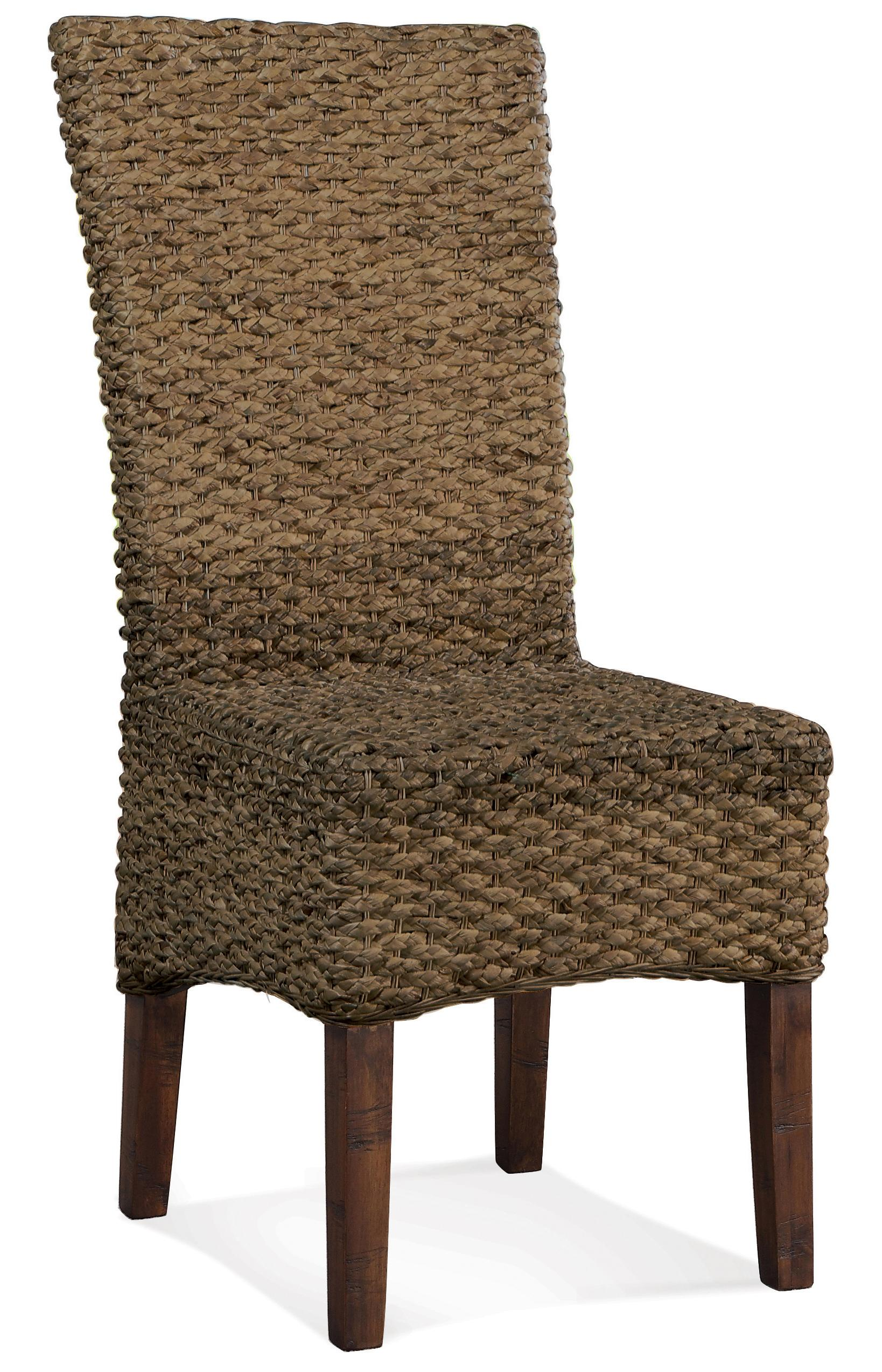 Riverside furniture mix n match chairs woven leaf side for Dining room tables jacksonville nc