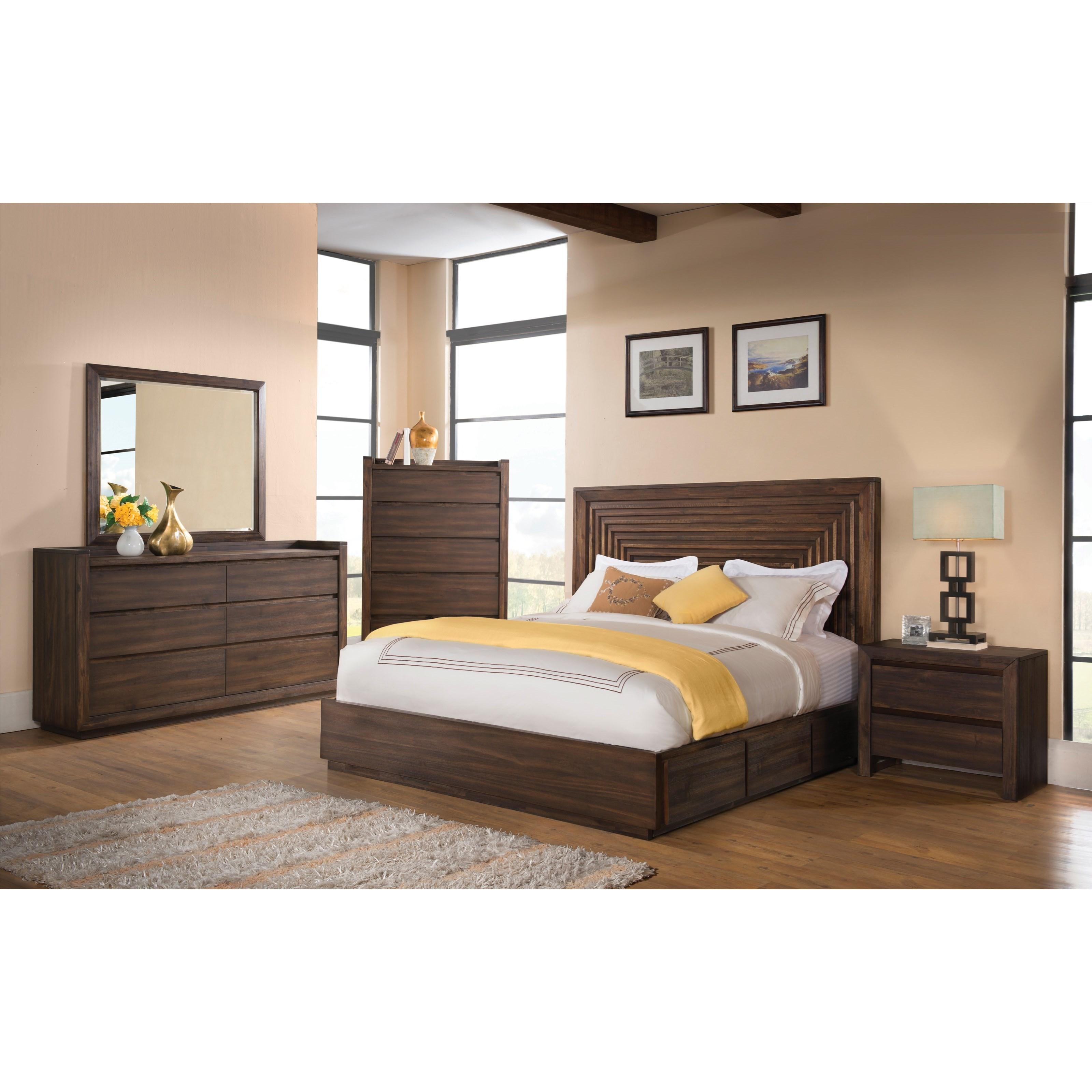 Riverside Furniture Modern Gatherings California King