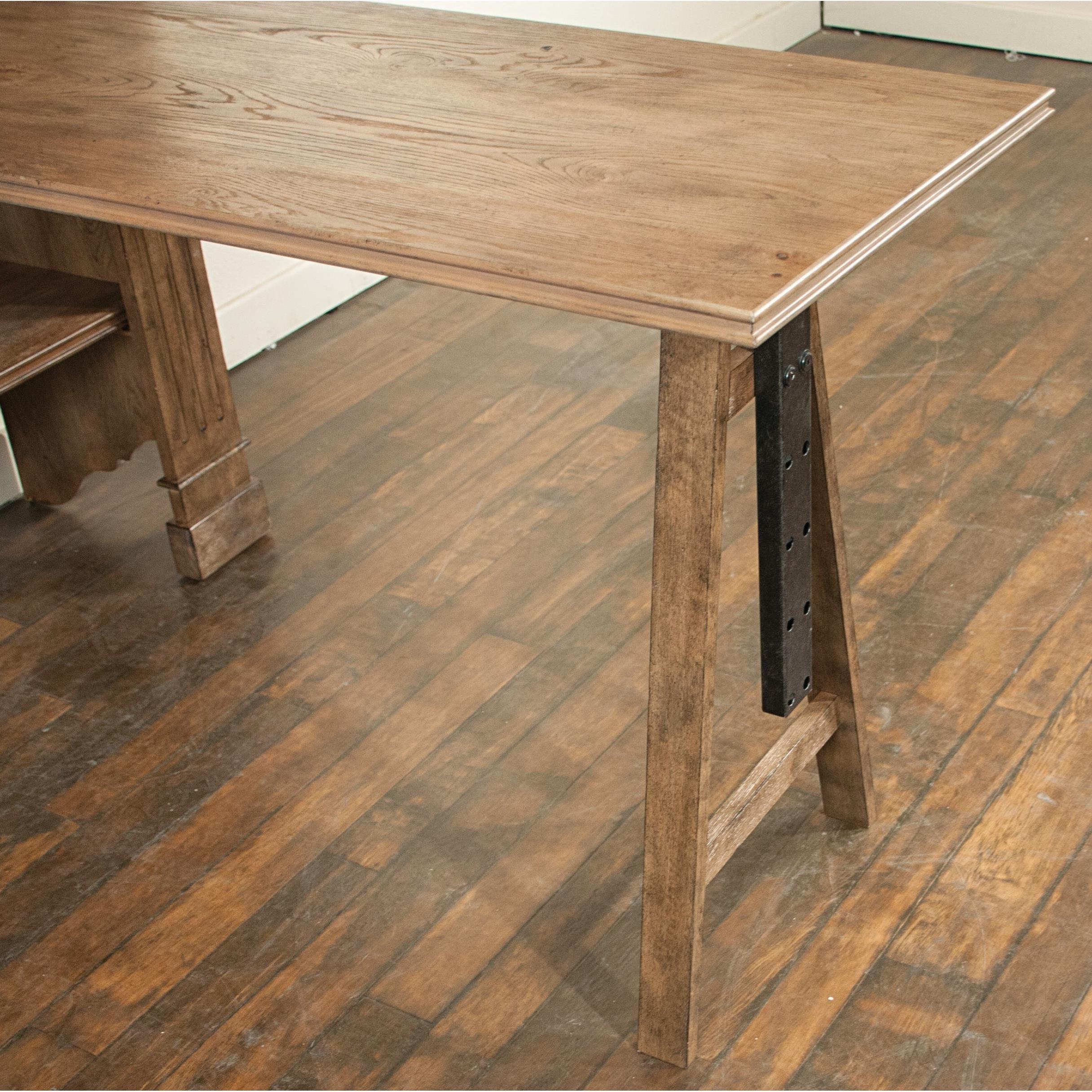 Riverside furniture northcote 13433 adjustable desk in for Mackinzie craft room table
