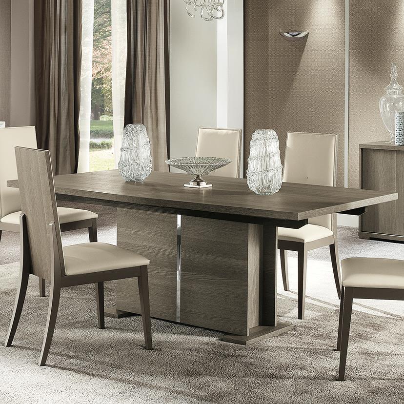 Alf italia tivoli contemporary weathered grey quot dining