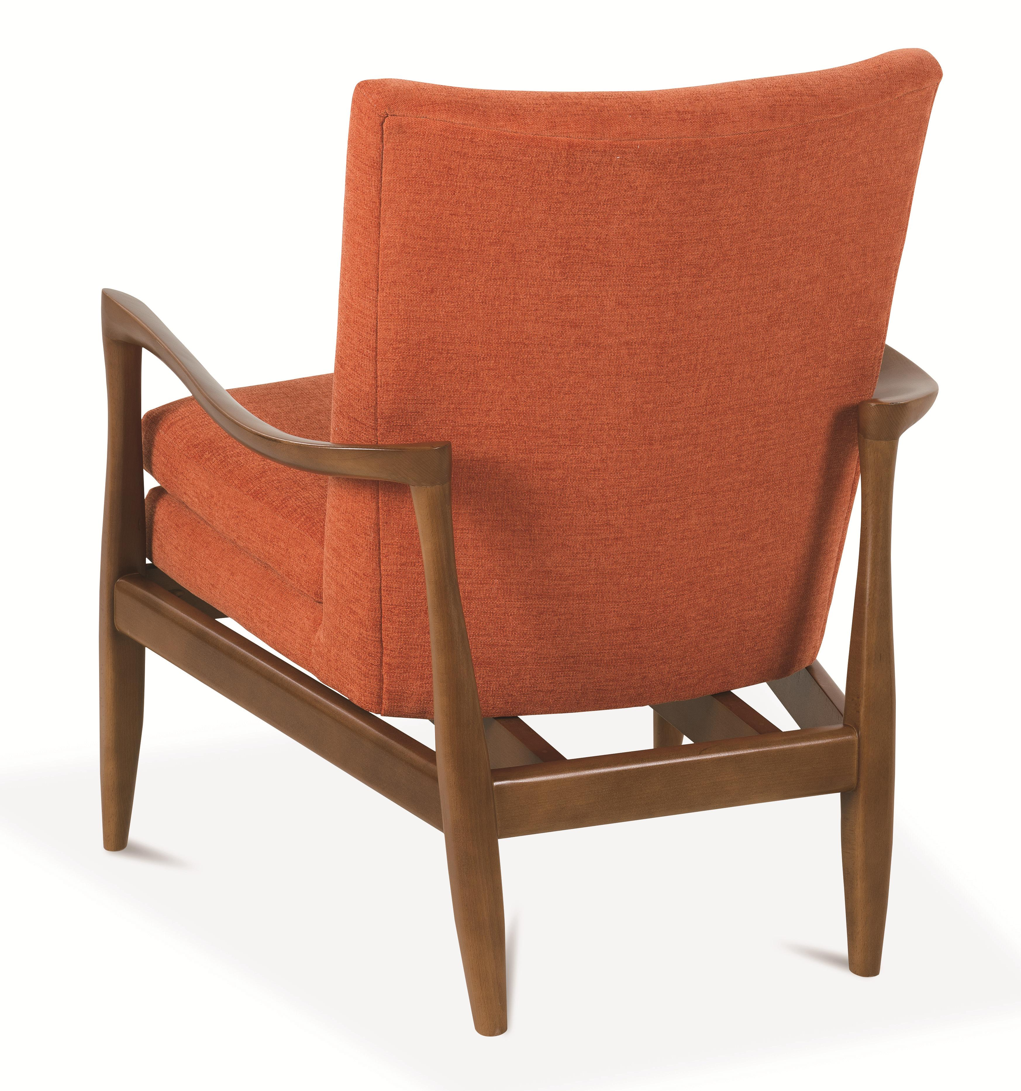 Rowe Chairs And Accents Harris Wood Frame Accent Chair Hudson 39 S