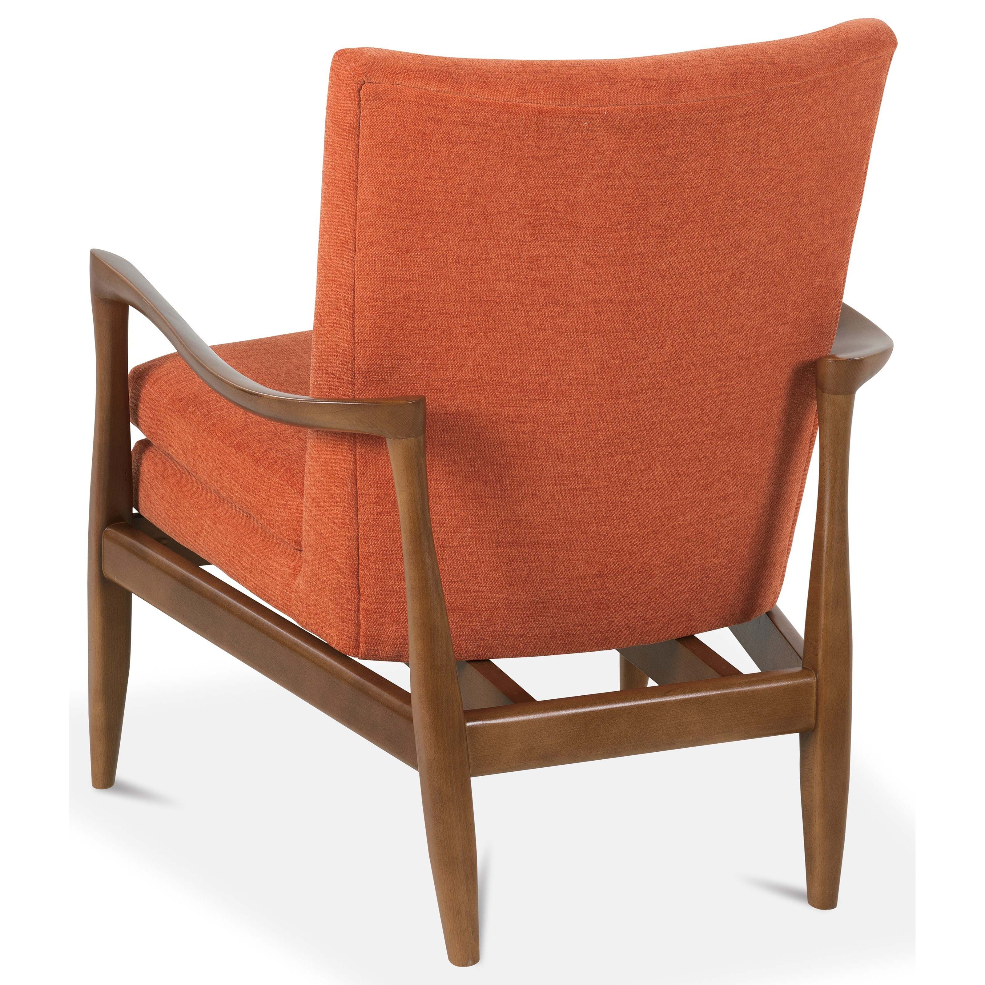 Rowe chairs and accents harris wood frame accent chair for Timber frame accents