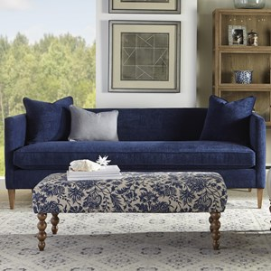 Rowe Claire Contemporary Cushion Sofa Dream Home Furniture Sofas Roswell Kennesaw
