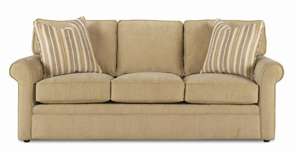 Rowe dalton queen sofa sleeper dream home furniture for Bedroom furniture 30144