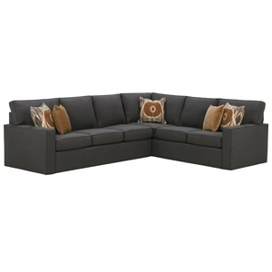 Lexington laurel canyon halandale two piece sectional sofa for Laurel 4 piece sectional sofa