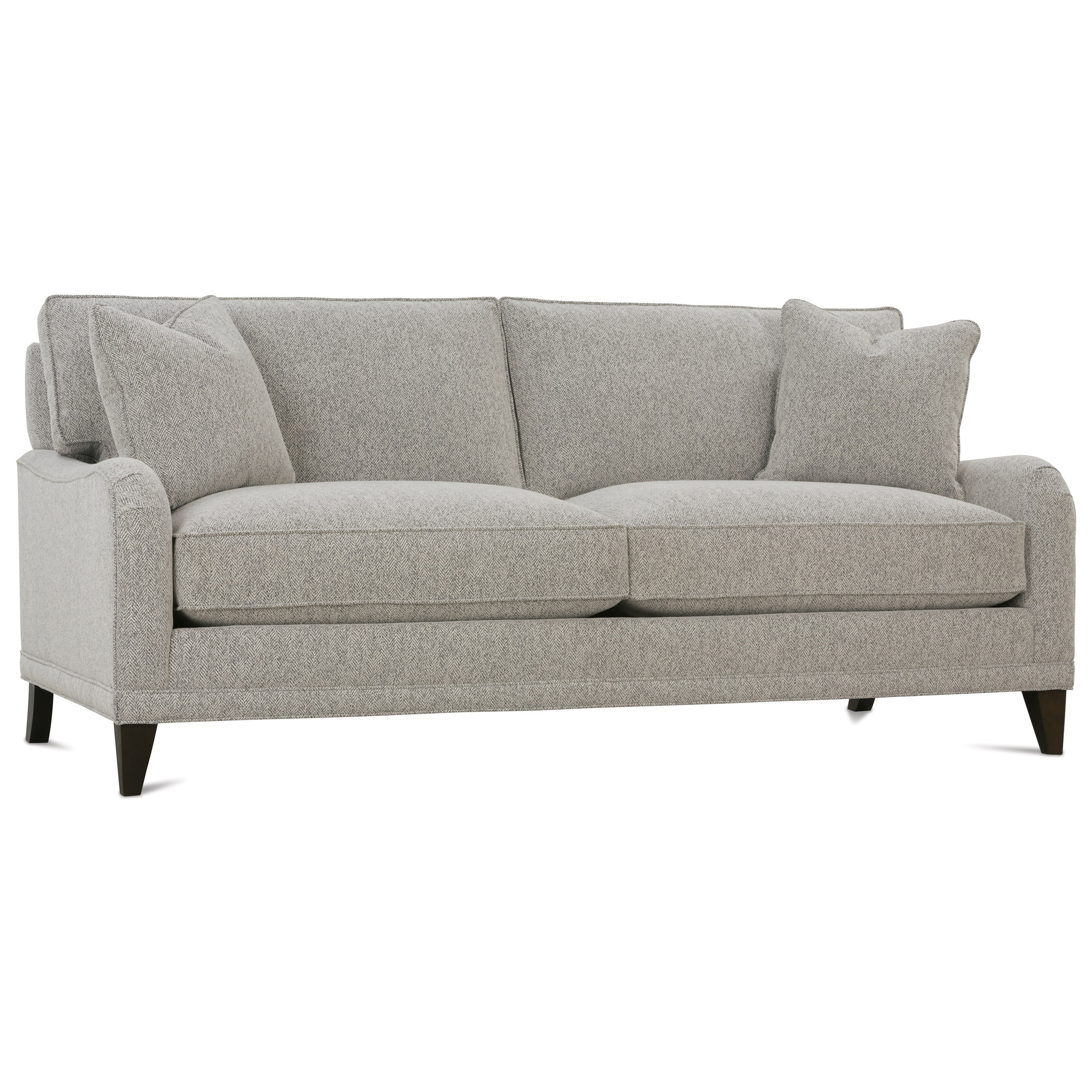 Rowe my style ii ae200 b 021 customizable 2 seat sofa with for Box type sofa designs