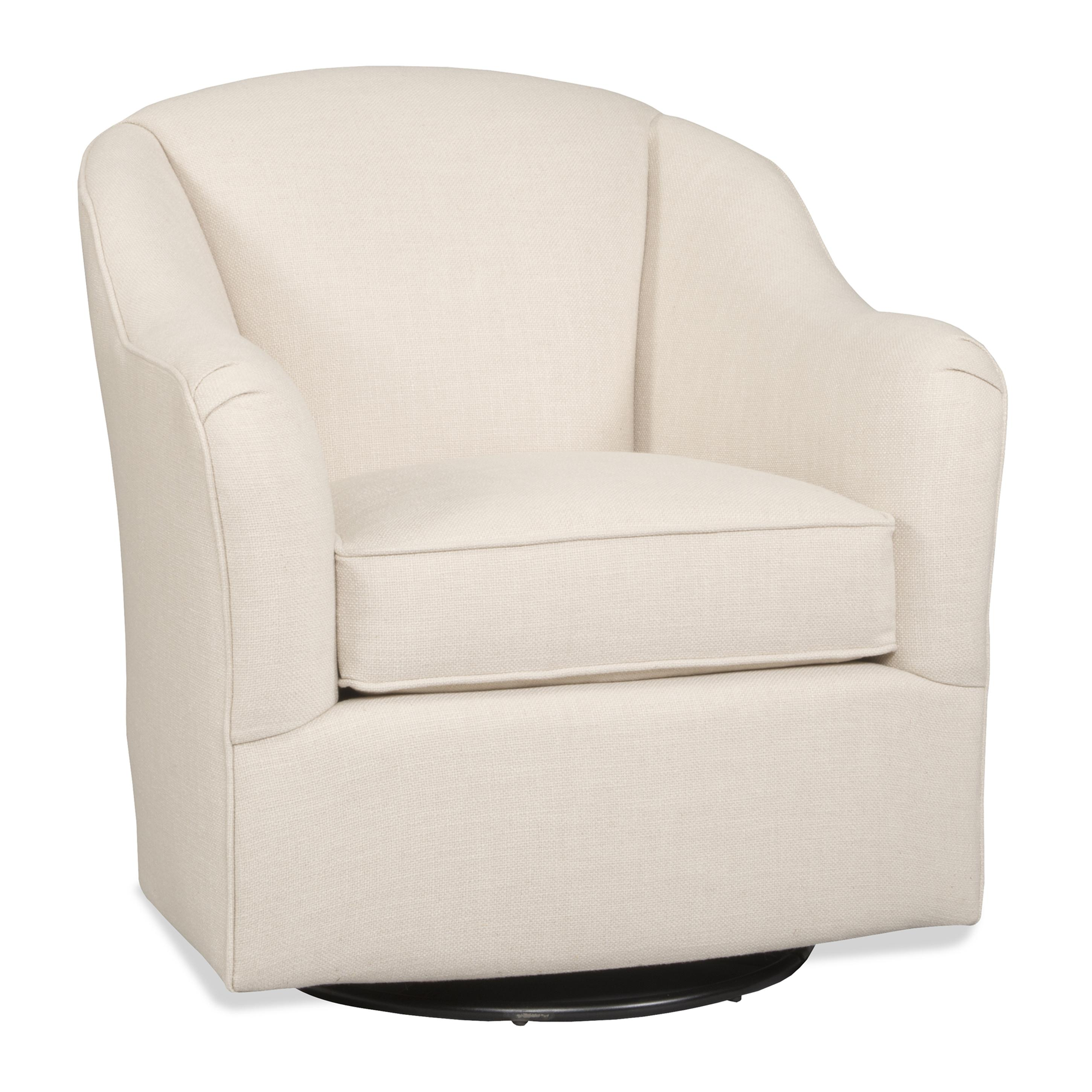 Casual Swivel Glider with English Arms