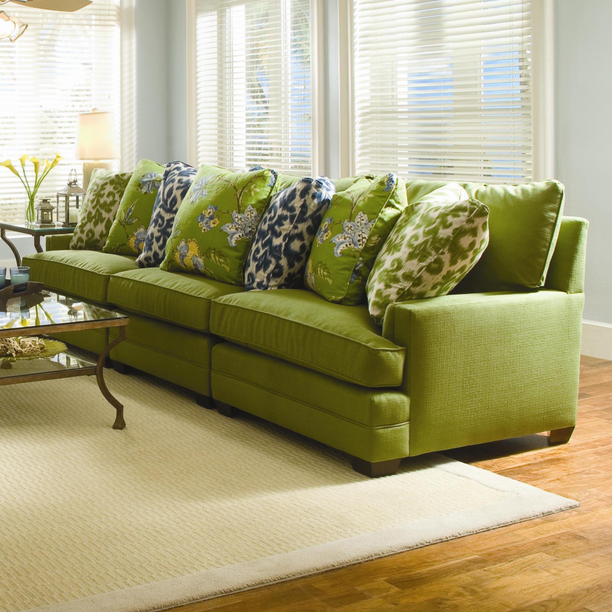 sam moore margo extra wide sectional sofa mueller. Black Bedroom Furniture Sets. Home Design Ideas