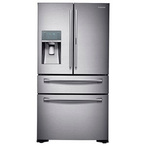 What are the dimensions of a standard Samsung refrigerator freezer?
