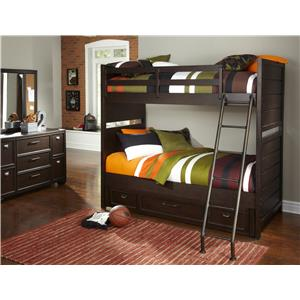 Samuel Lawrence Clubhouse Twin Loft Storage Bed Darvin